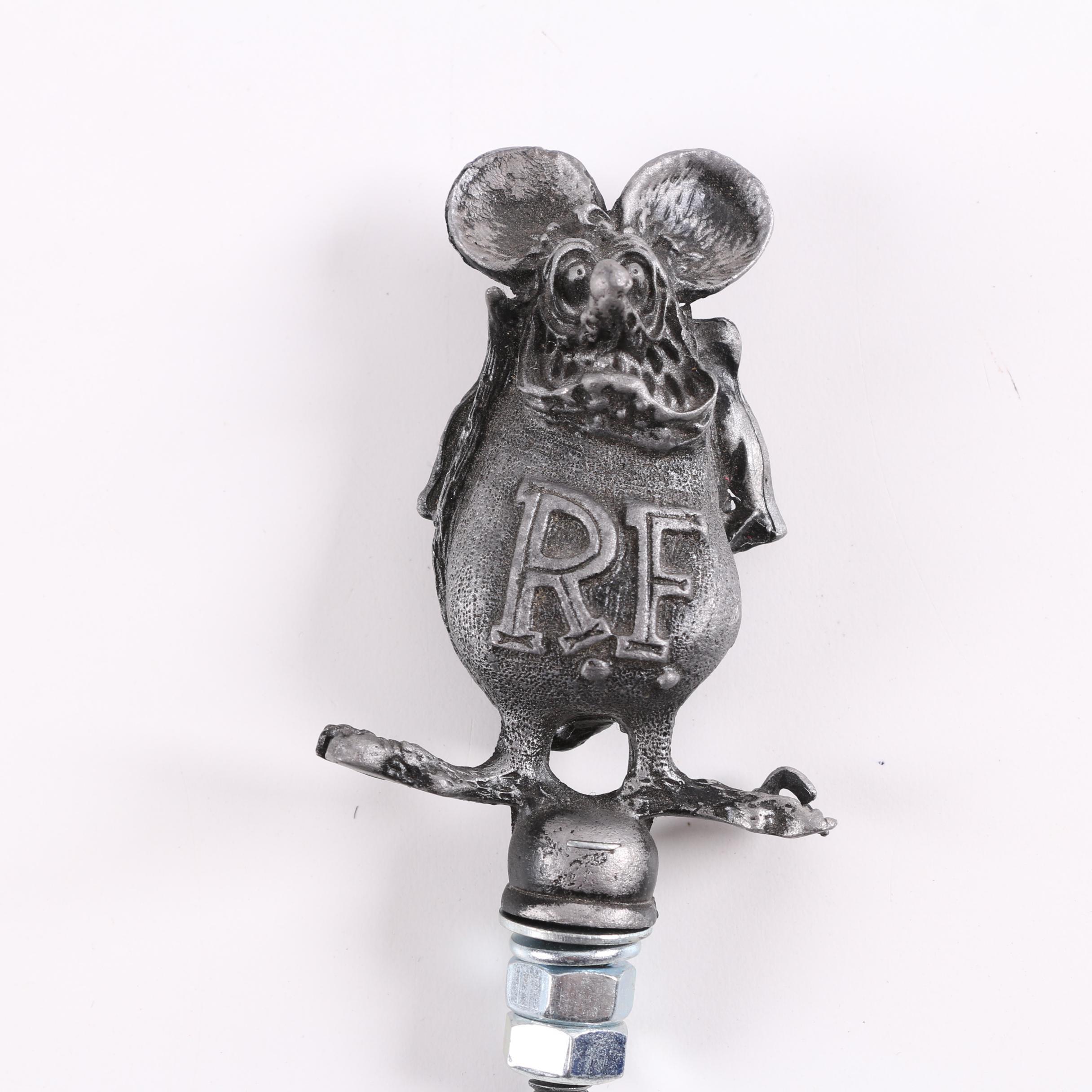 """Big Daddy Roth """"Rat Fink"""" Car Hood Ornament"""