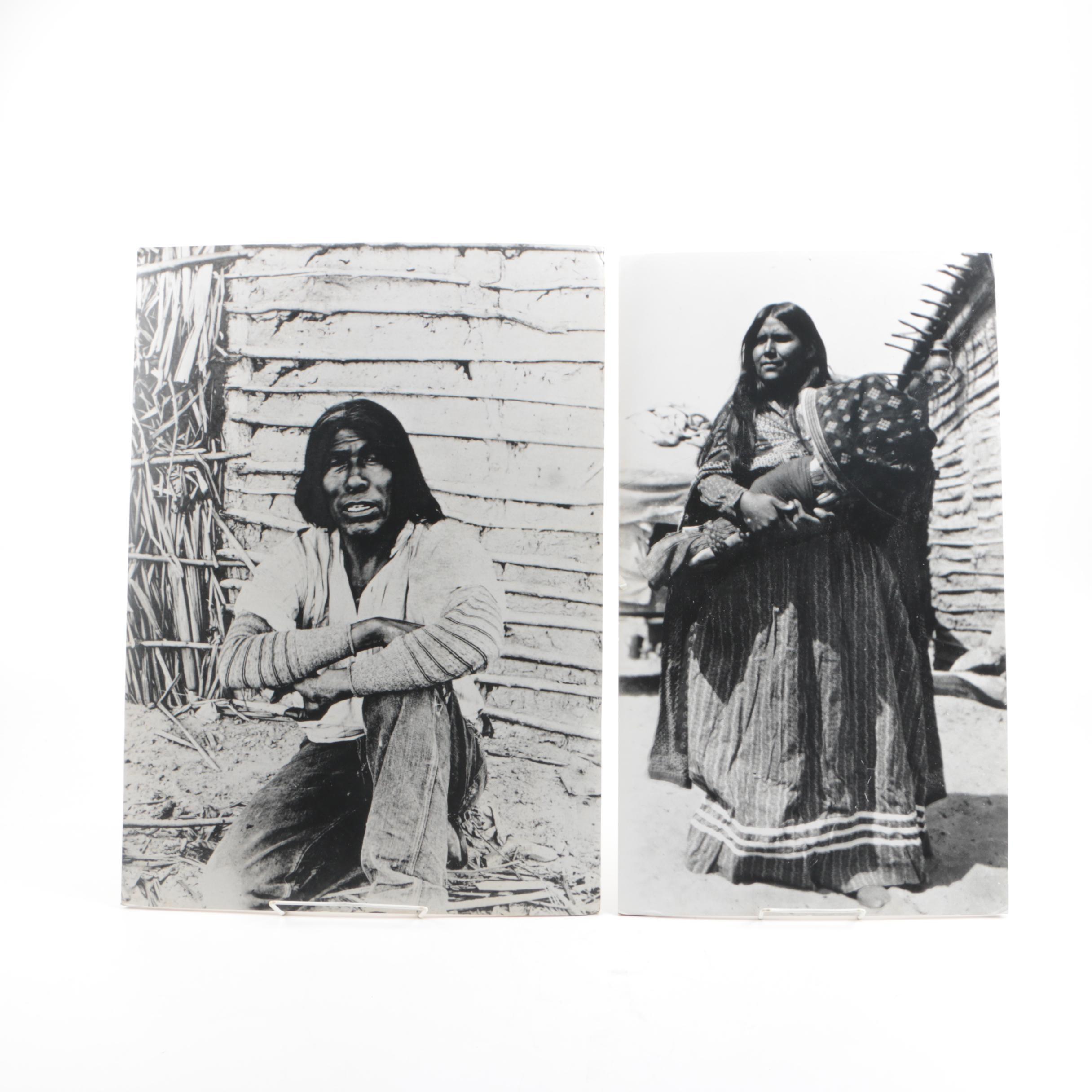 Ruby L. Archambeau Digital Photographs of Native American Figures