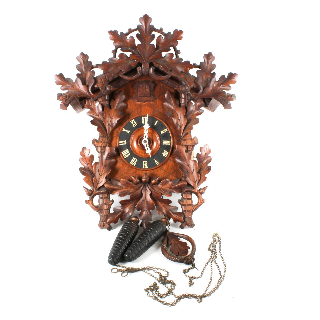 Breitinger & Sons Carved Wood Cuckoo Clock