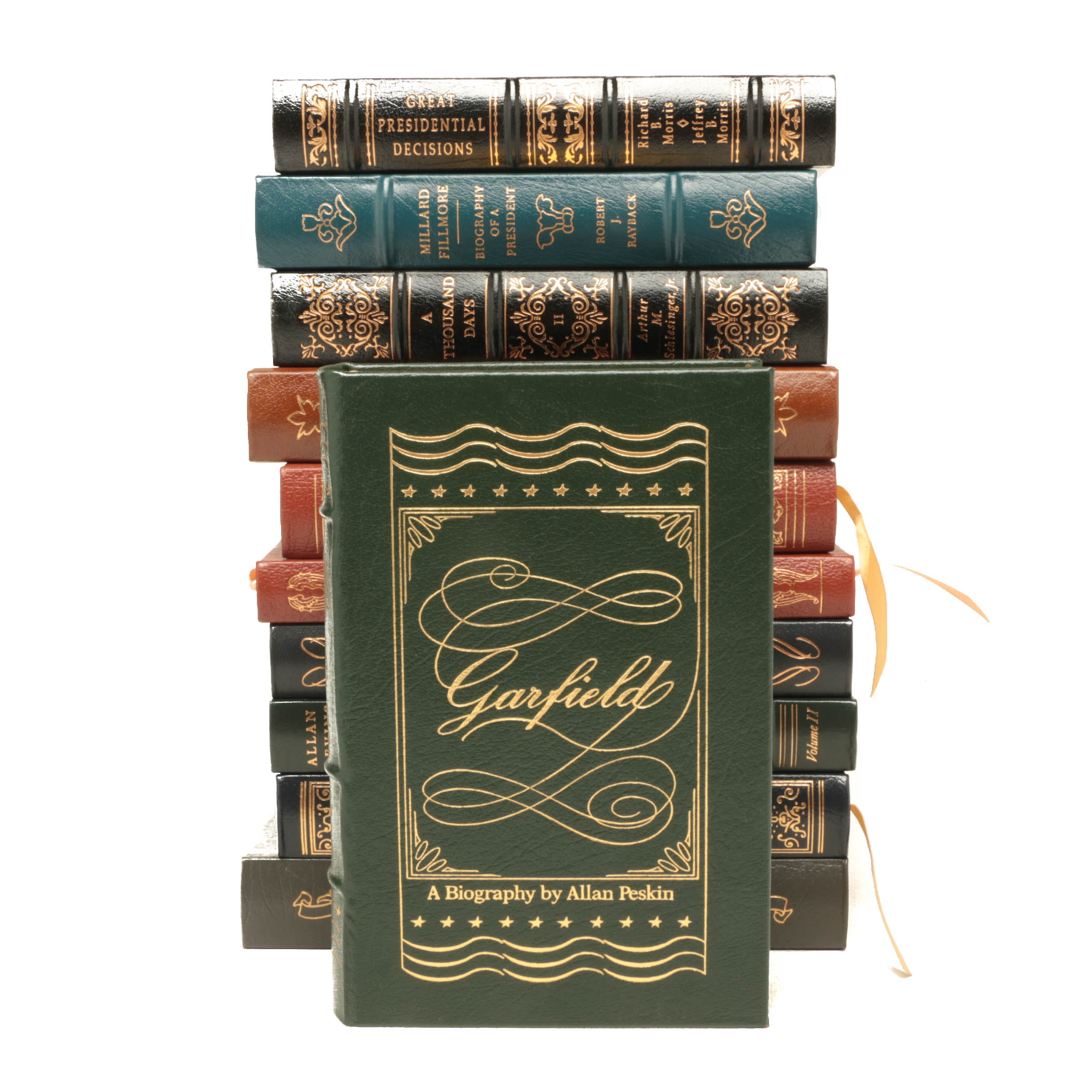Easton Press Leatherbound Collector's Editions Featuring Arthur M. Schlesinger,