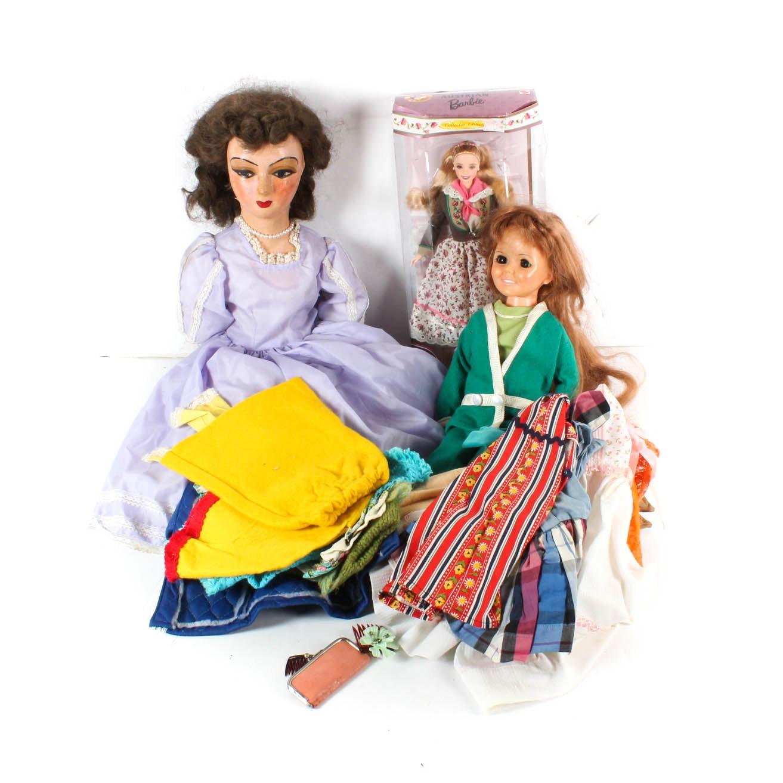 Austrian Barbie, Vintage Dolls, and Doll Clothes