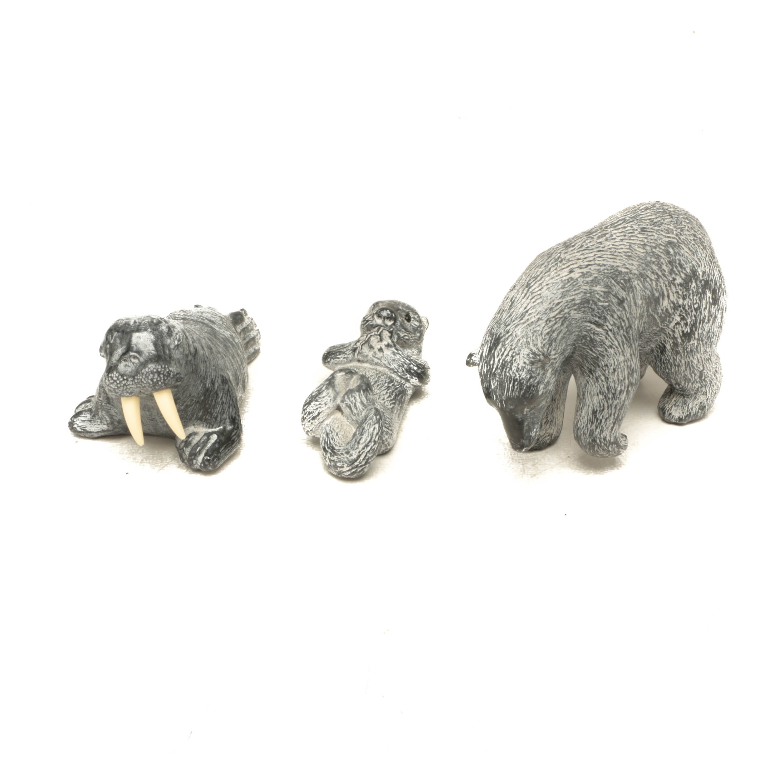Soapstone Inuit Style Figures from Canada
