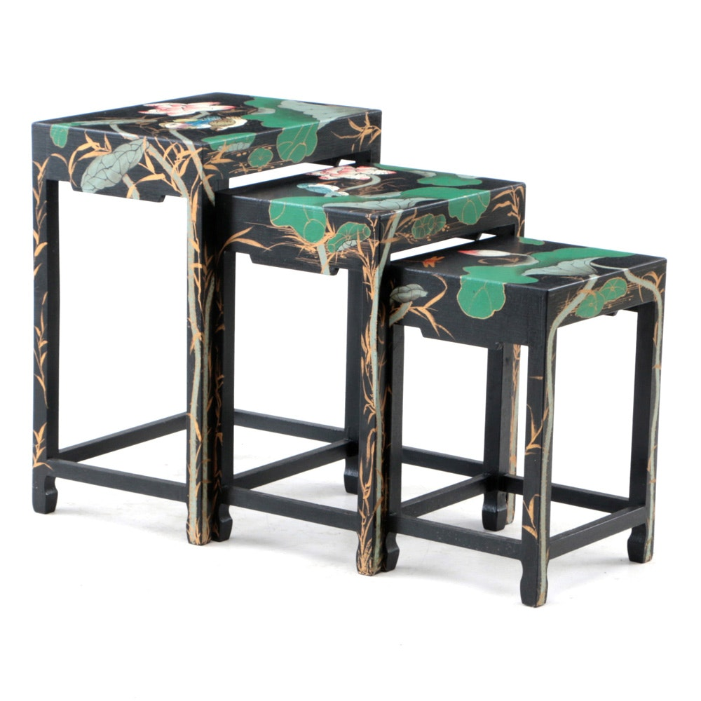 Collection of Chinese Inspired Nesting Tables