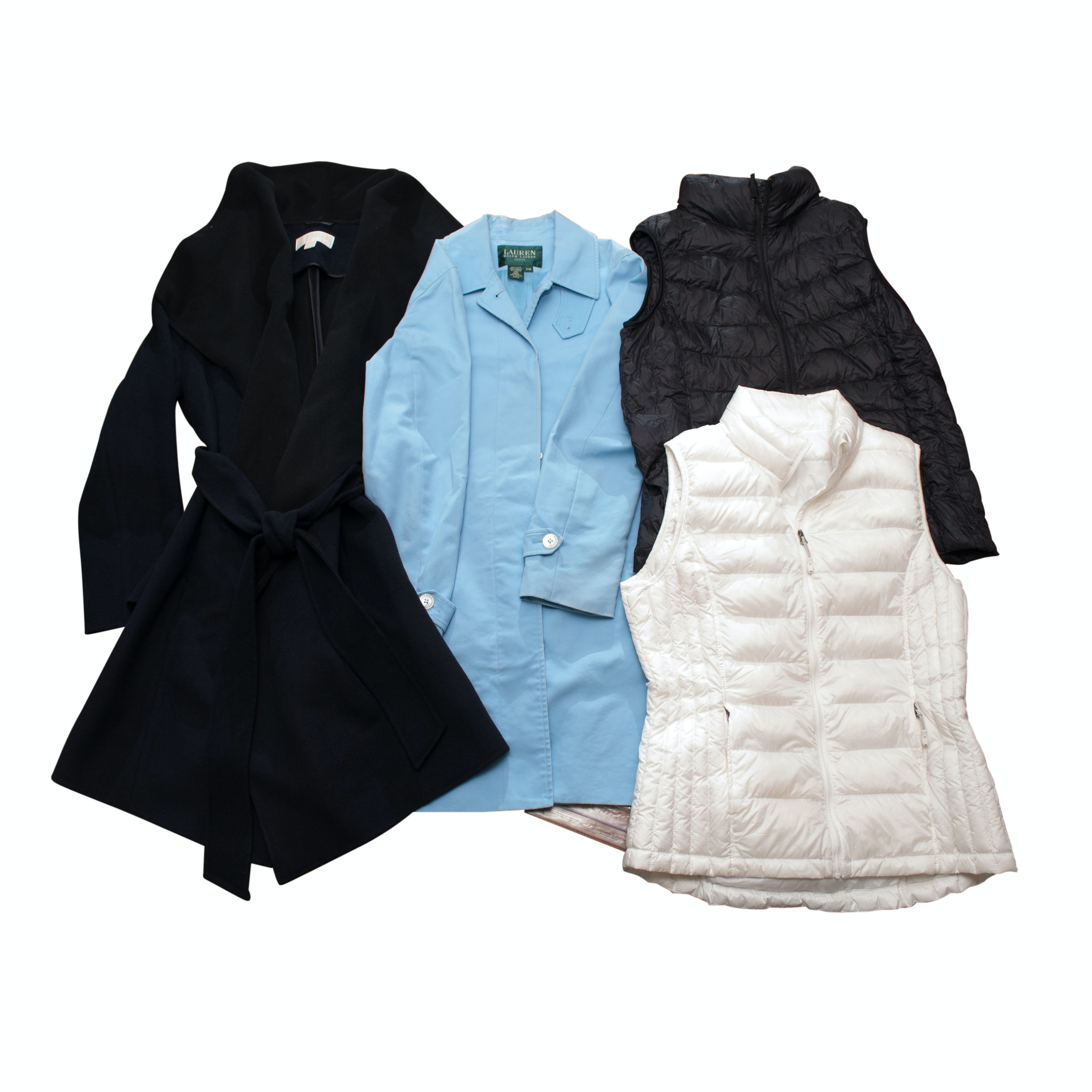 Contemporary Outerwear Including 32 Degrees, Uniqlo, Lauren, and Michael Kors