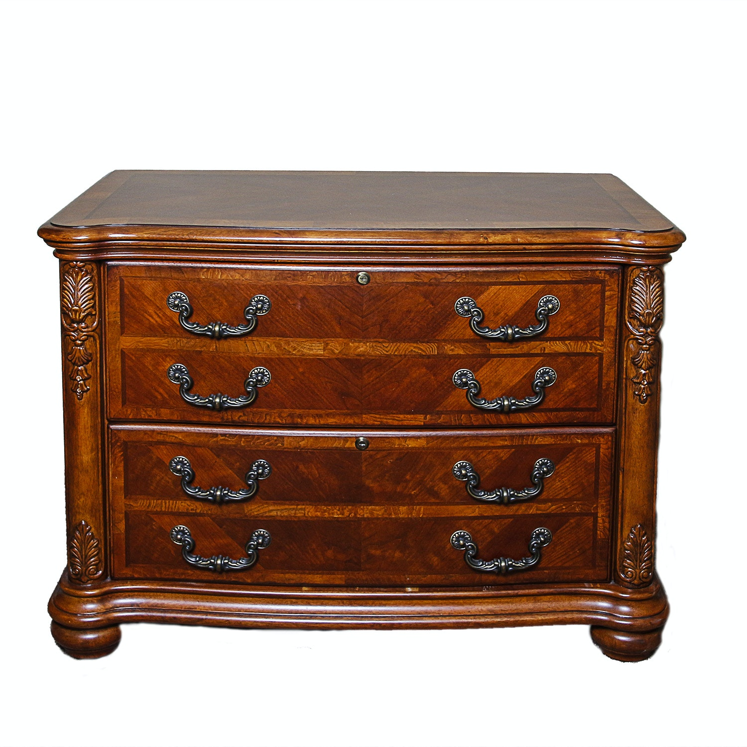 Louis XV Style File Cabinet