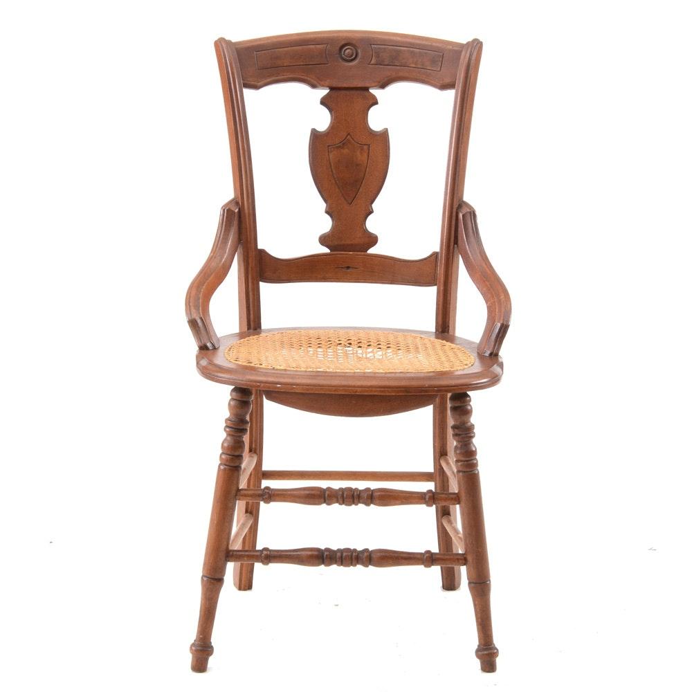 Antique Walnut Side Chair