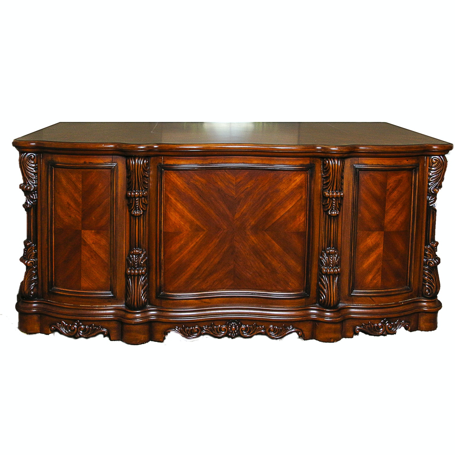 Louis XV Style Executive Desk