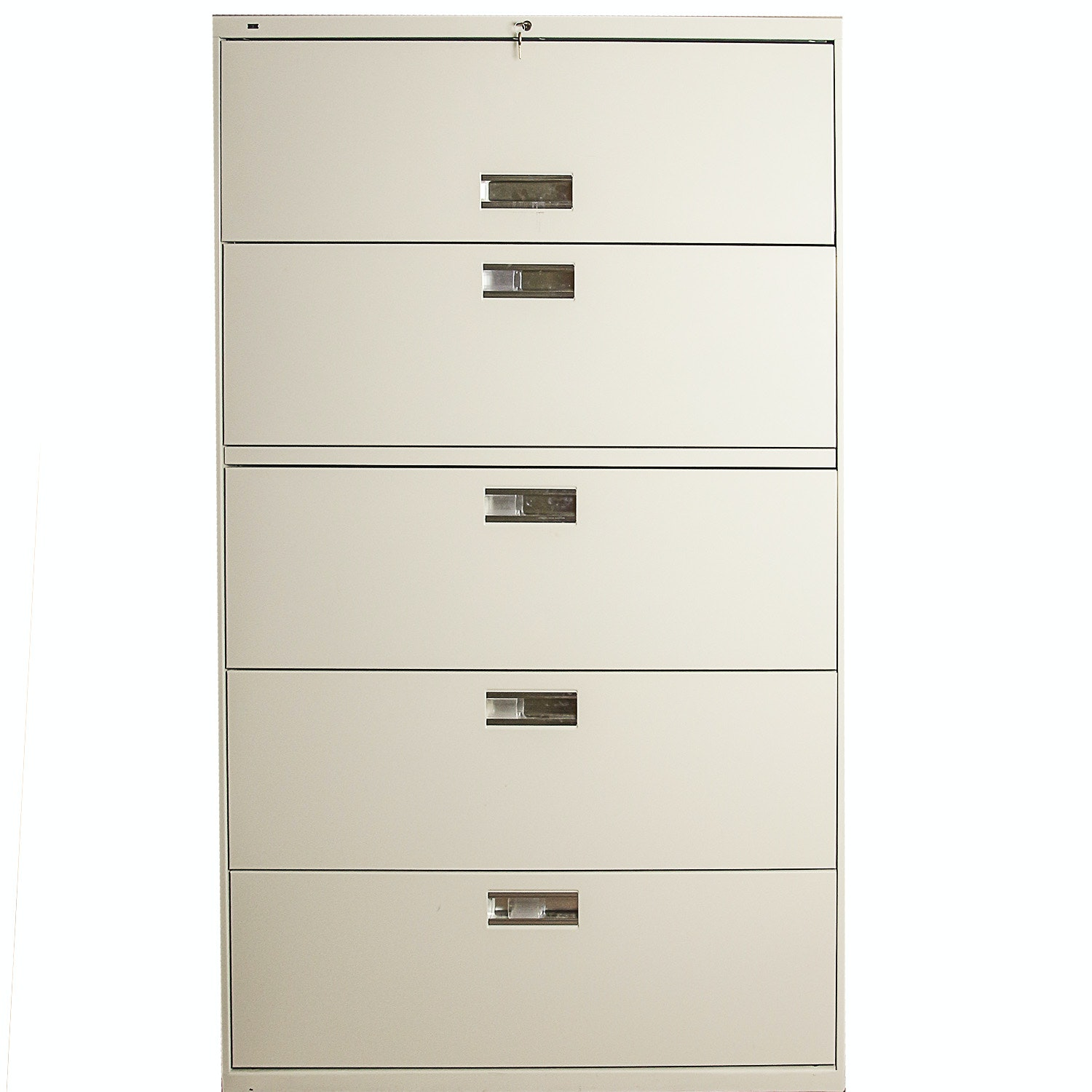 Five Drawer Standing Filing Cabinet