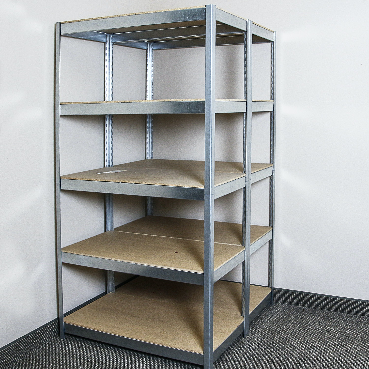 Industrial Style Five Tier Shelving Units