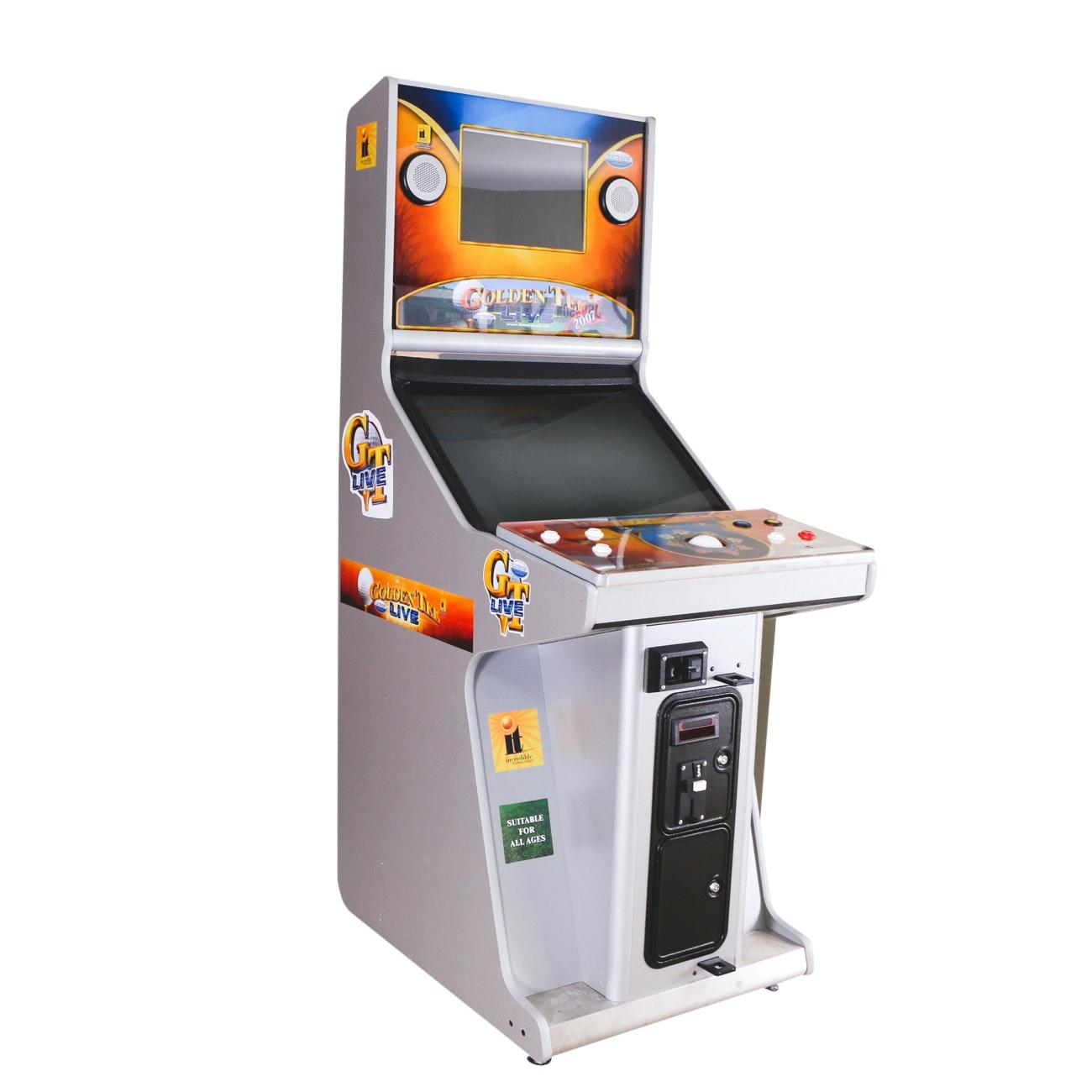 Golden Tee Live 2007 Arcade Game