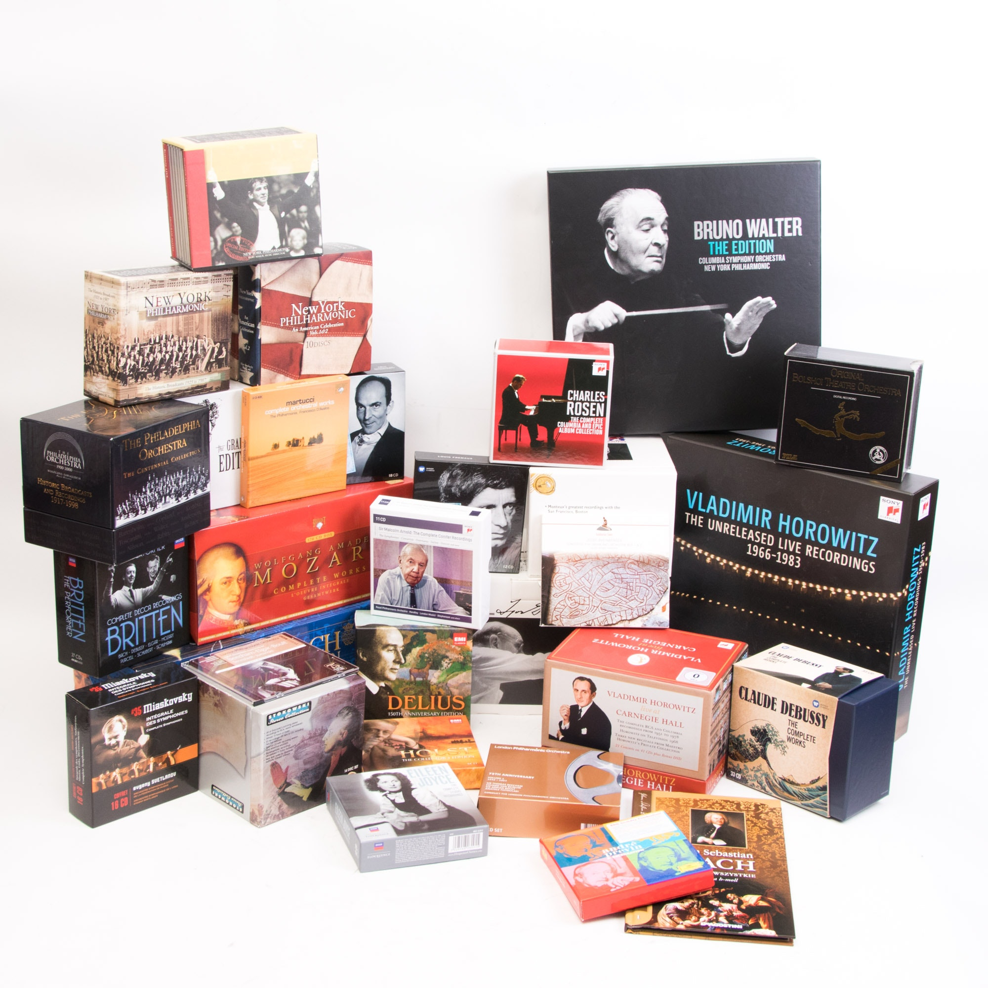 Large Collection of Classical and Orchestral Boxed CD Sets