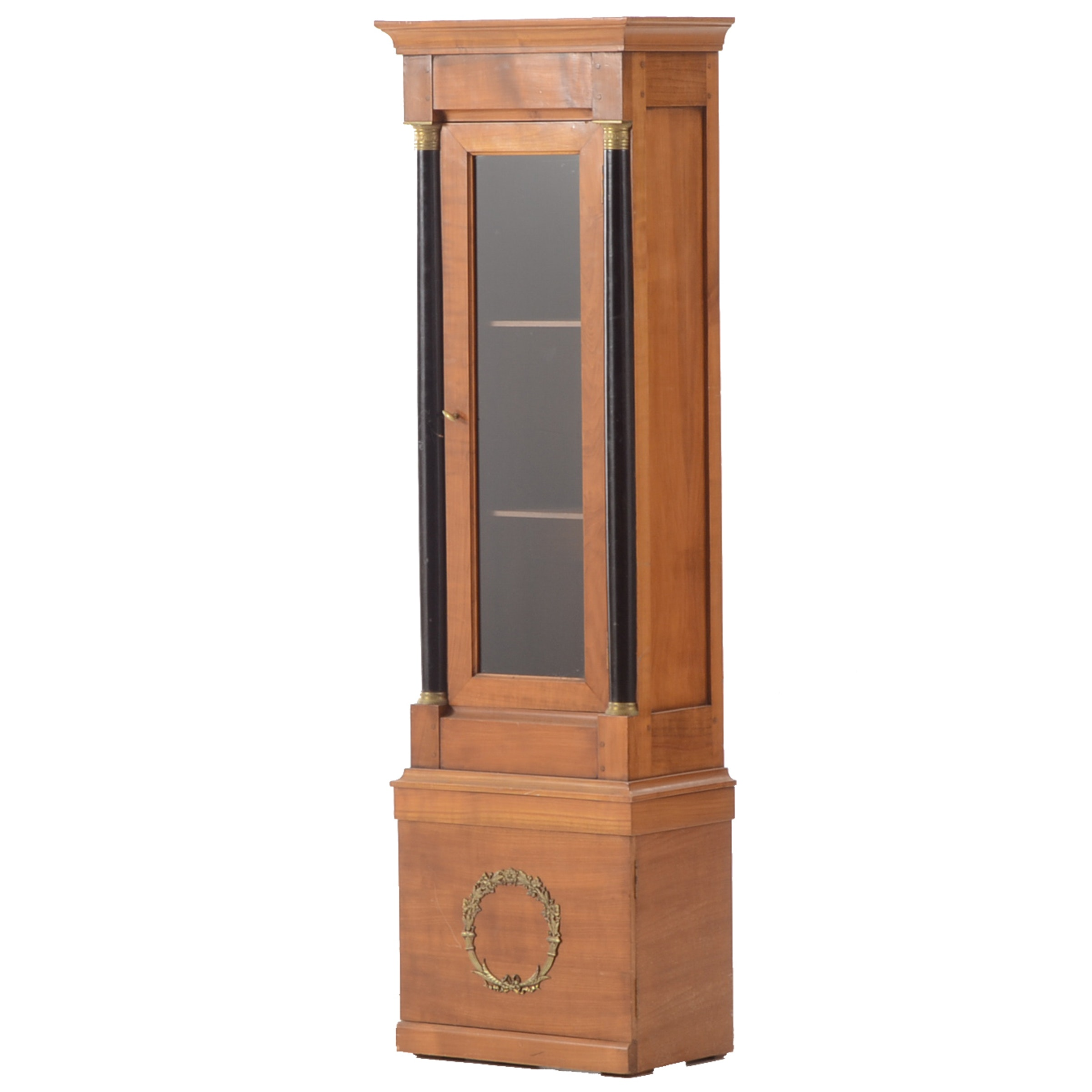 American Empire Style Display Cabinet