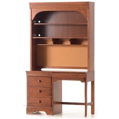 Vintage Mahogany Spinet Desk Ebth