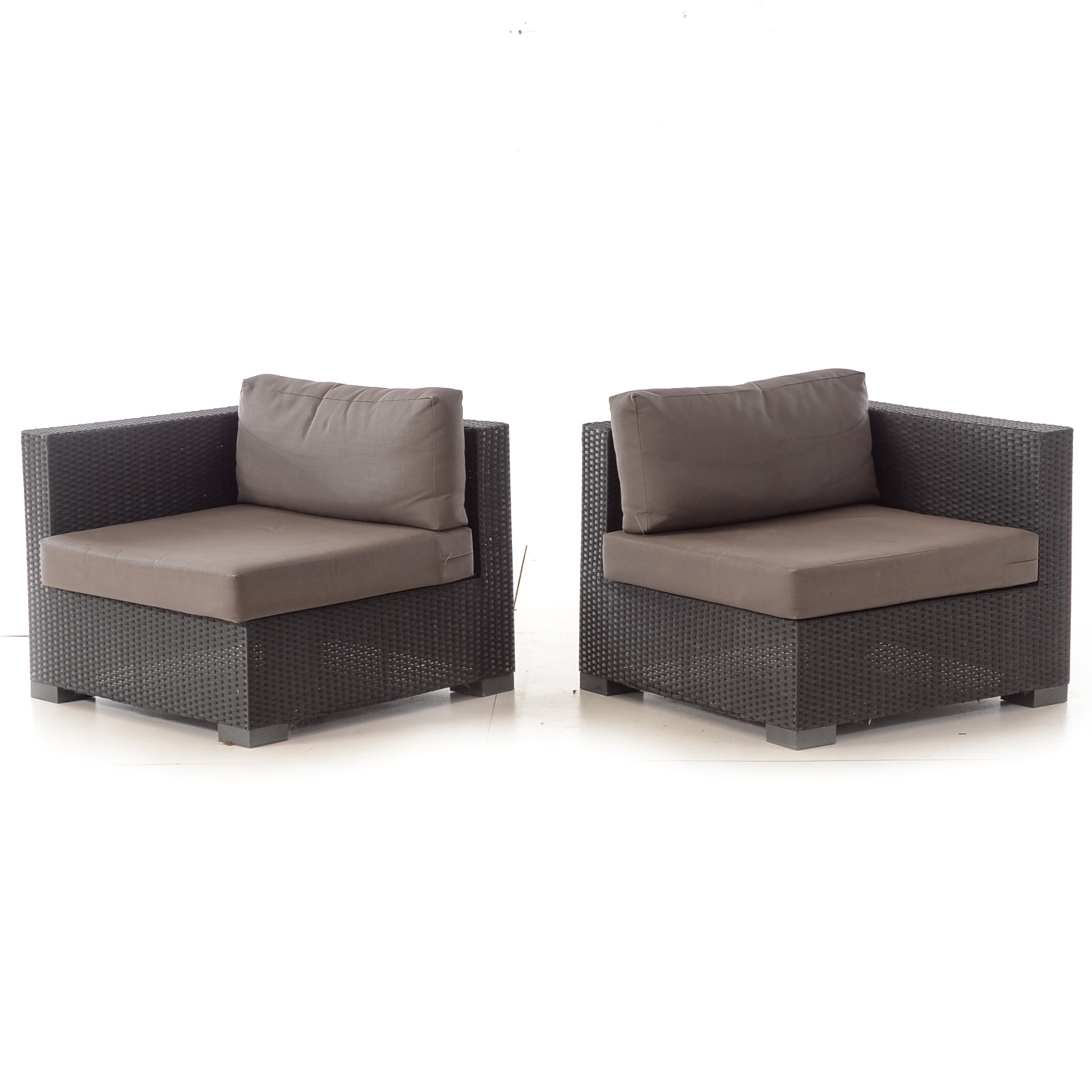 Pair of Outdoor Arm Chairs
