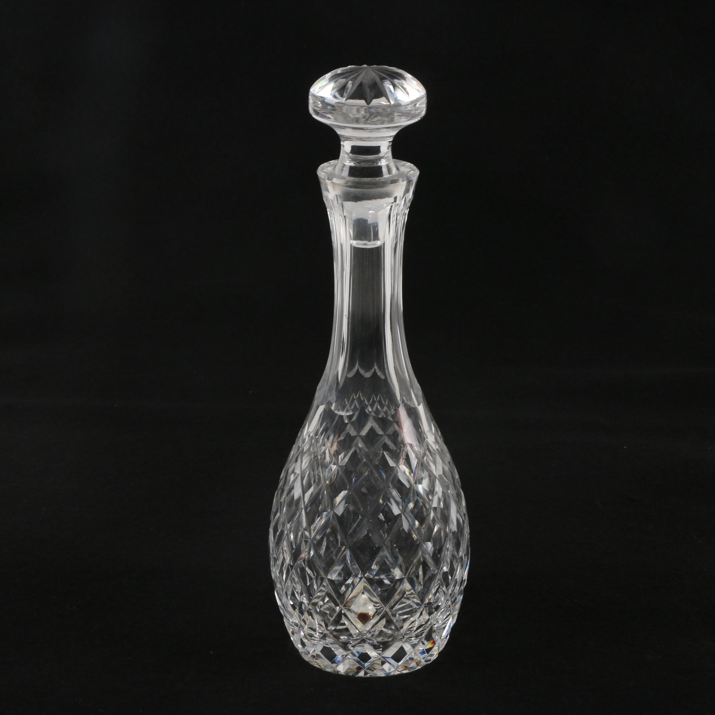 "Waterford Crystal ""Comeragh"" Decanter"