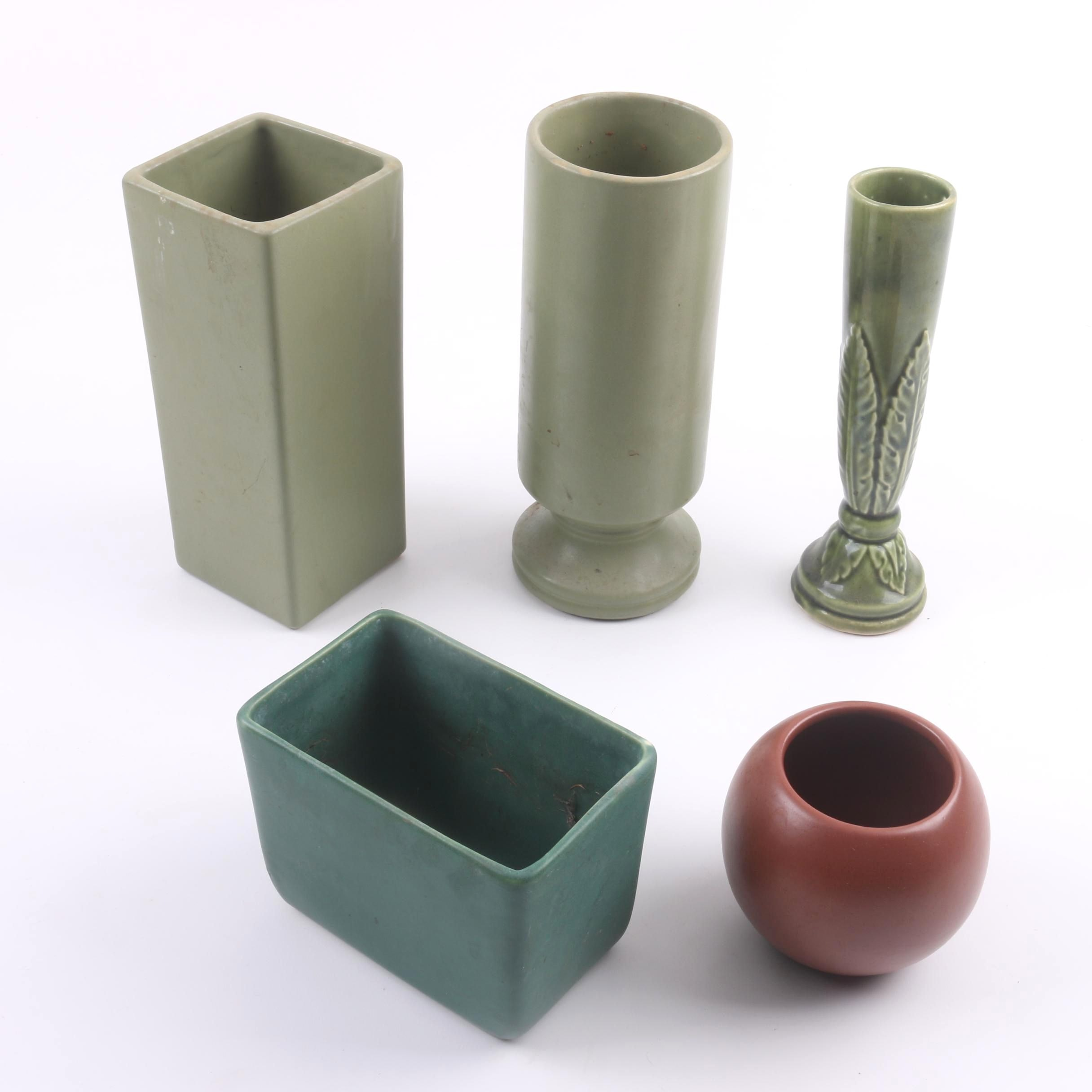 Planters and Vases Including MJ Brush
