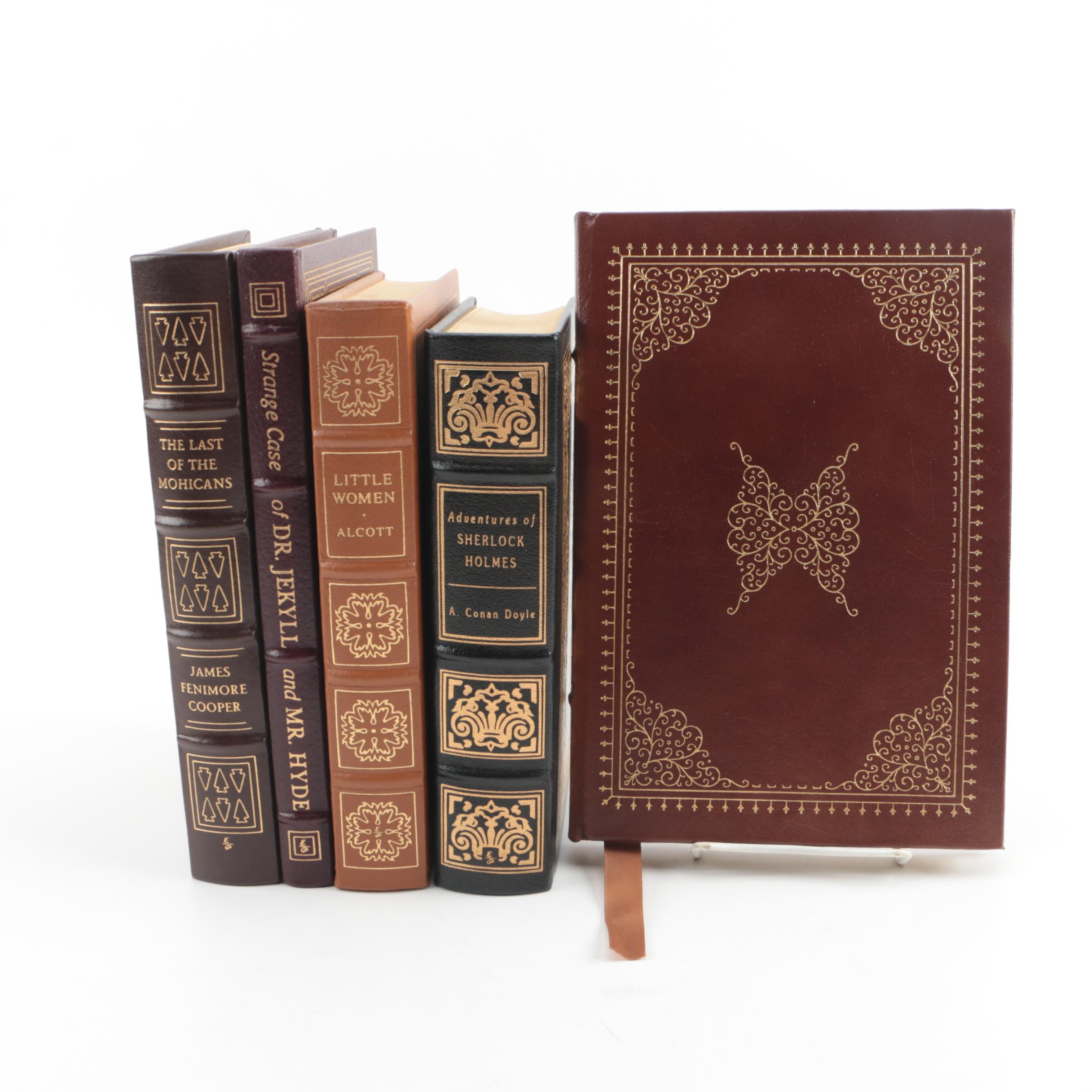 Easton Press Leather Bound Collector's Editions Including Arthur Conan Doyle