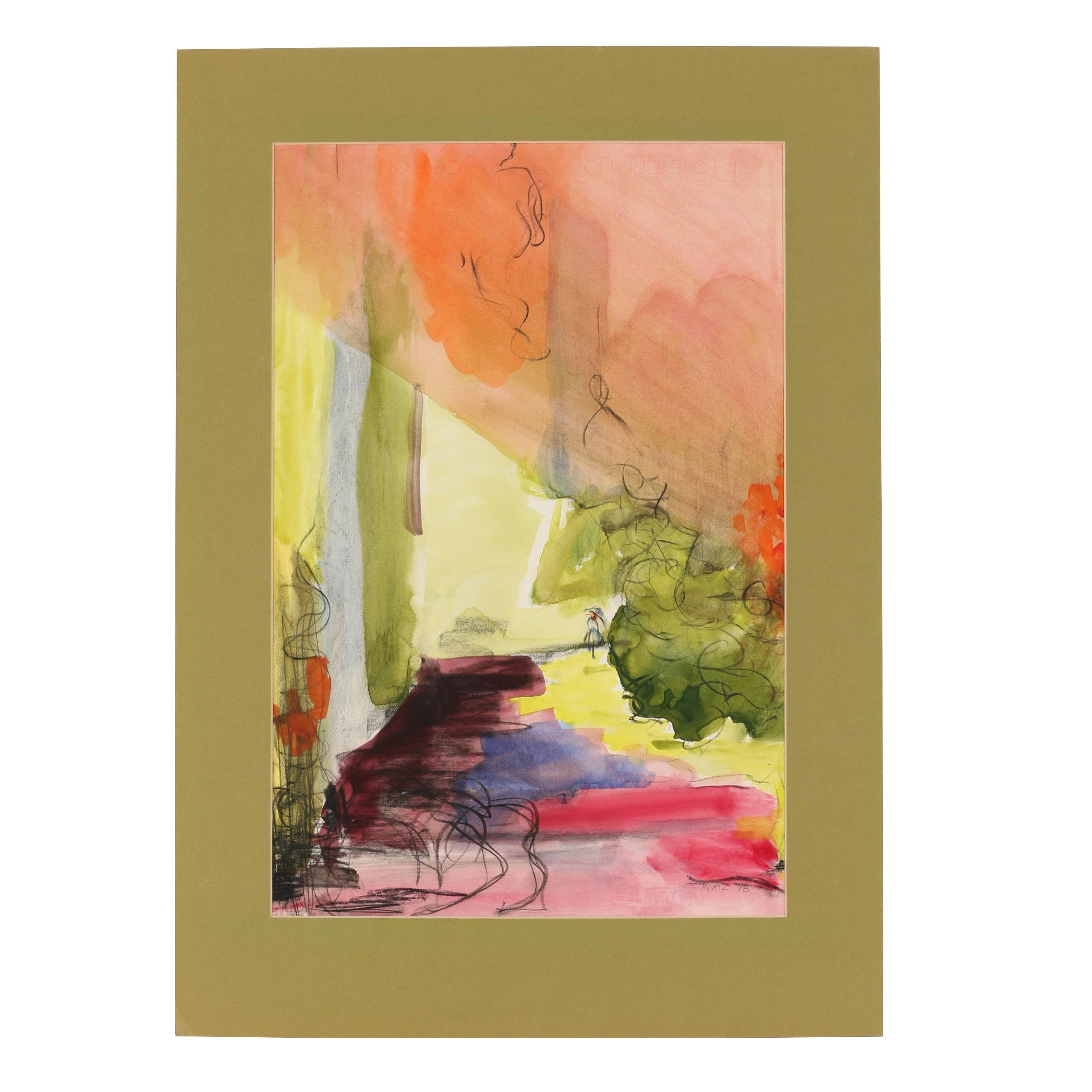 Beth Hertz Watercolor Painting