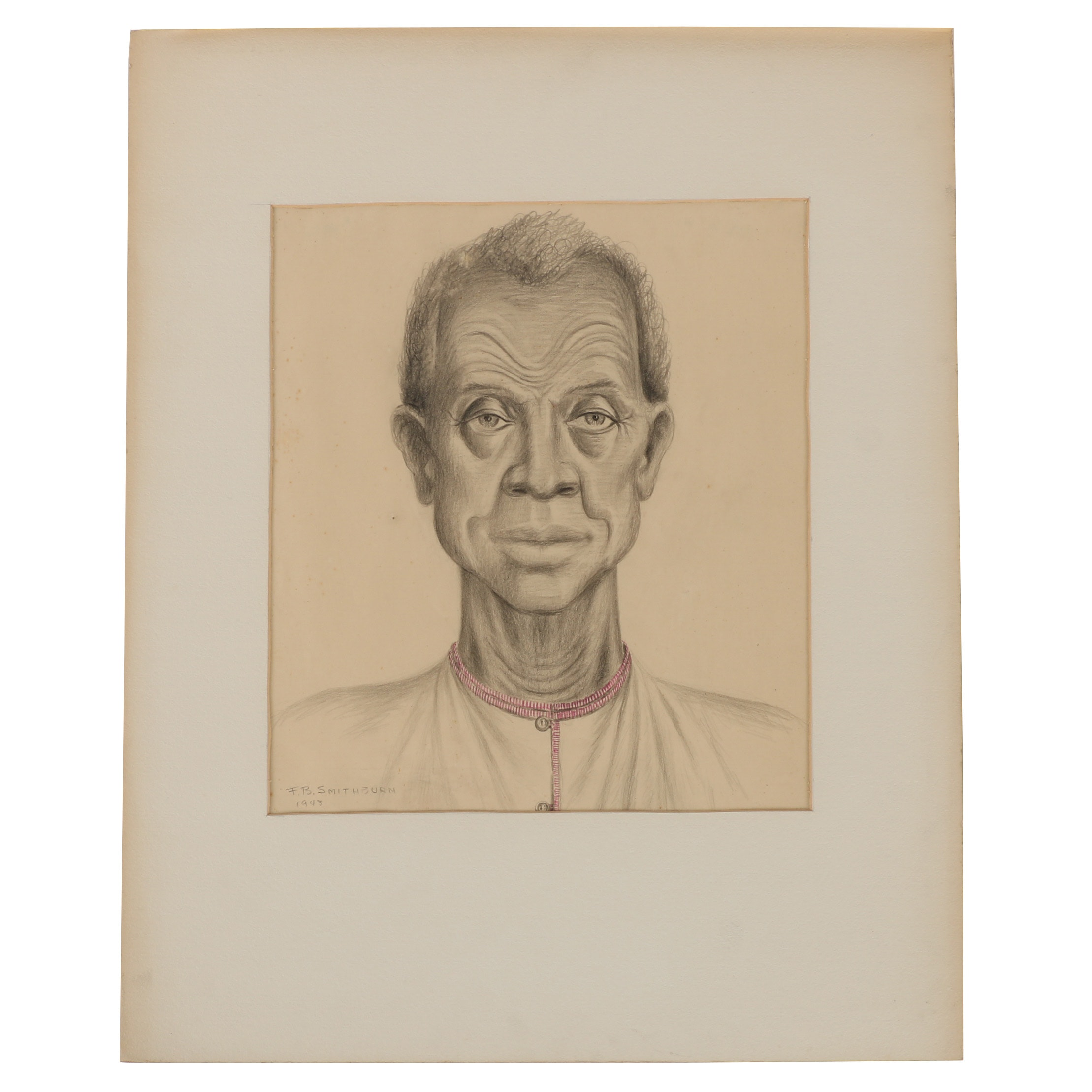 Florence Smithburn Graphite Drawing