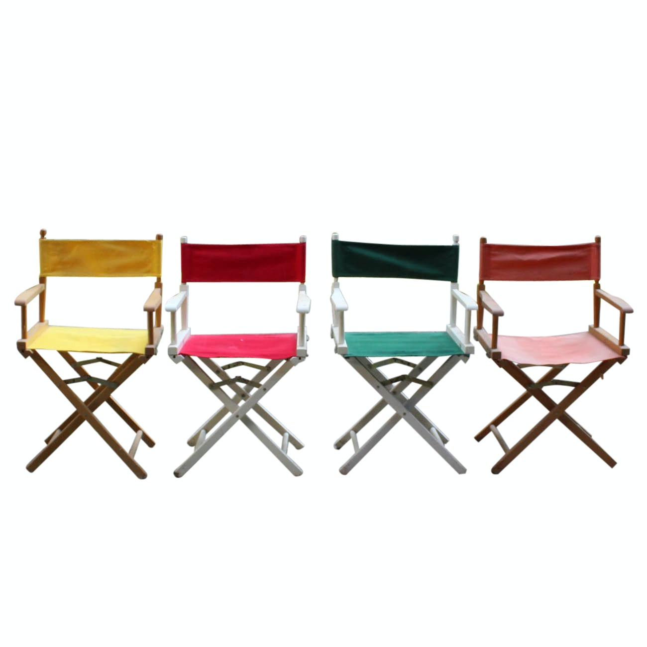 Four Director's Chairs