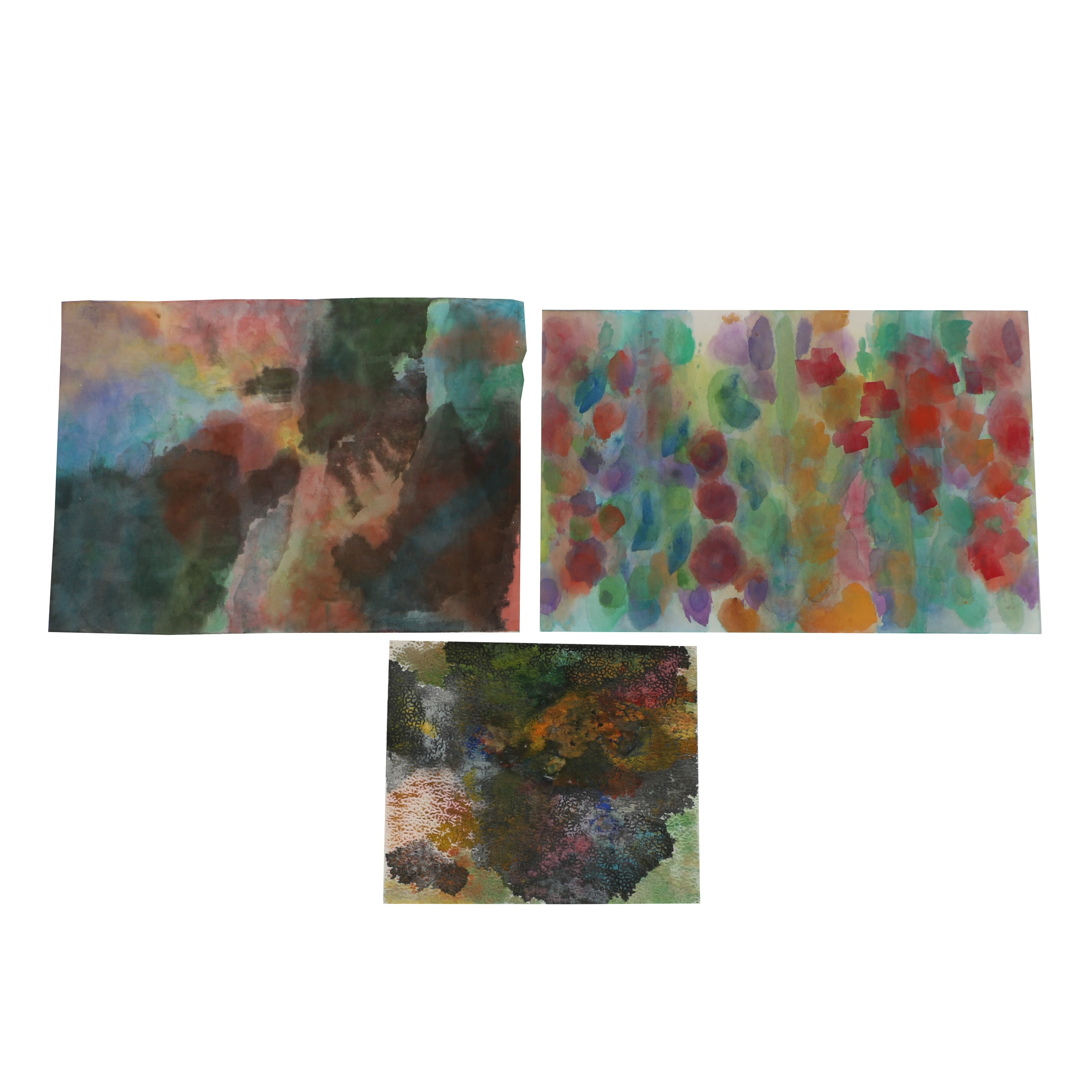 Louis Papp Watercolor Paintings