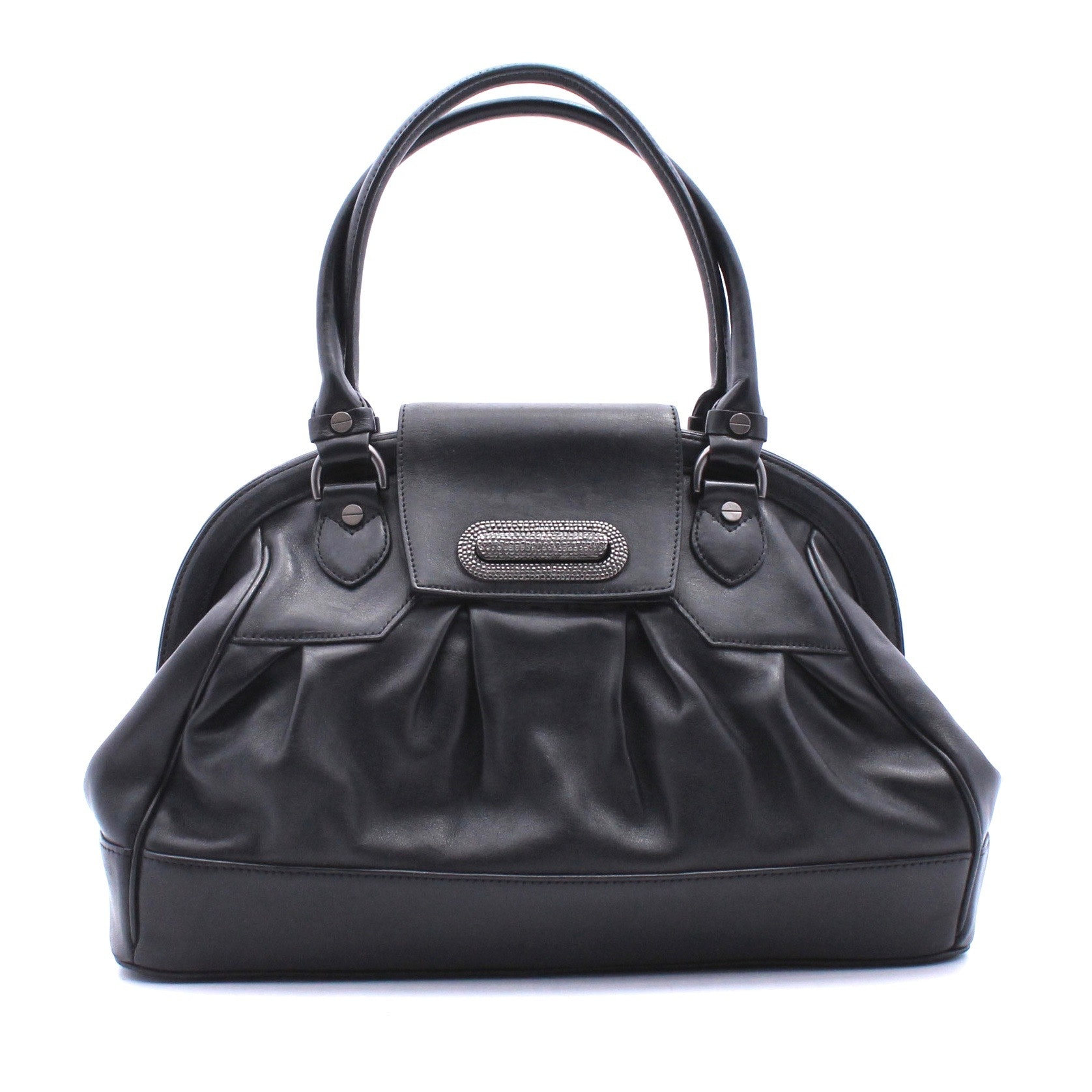 Alexis Hudson Black Leather Handbag