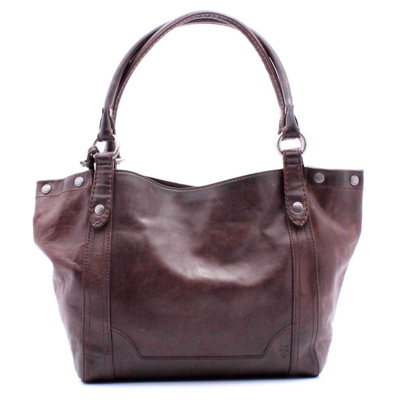 Frye Cognac Leather Shoulder Bag