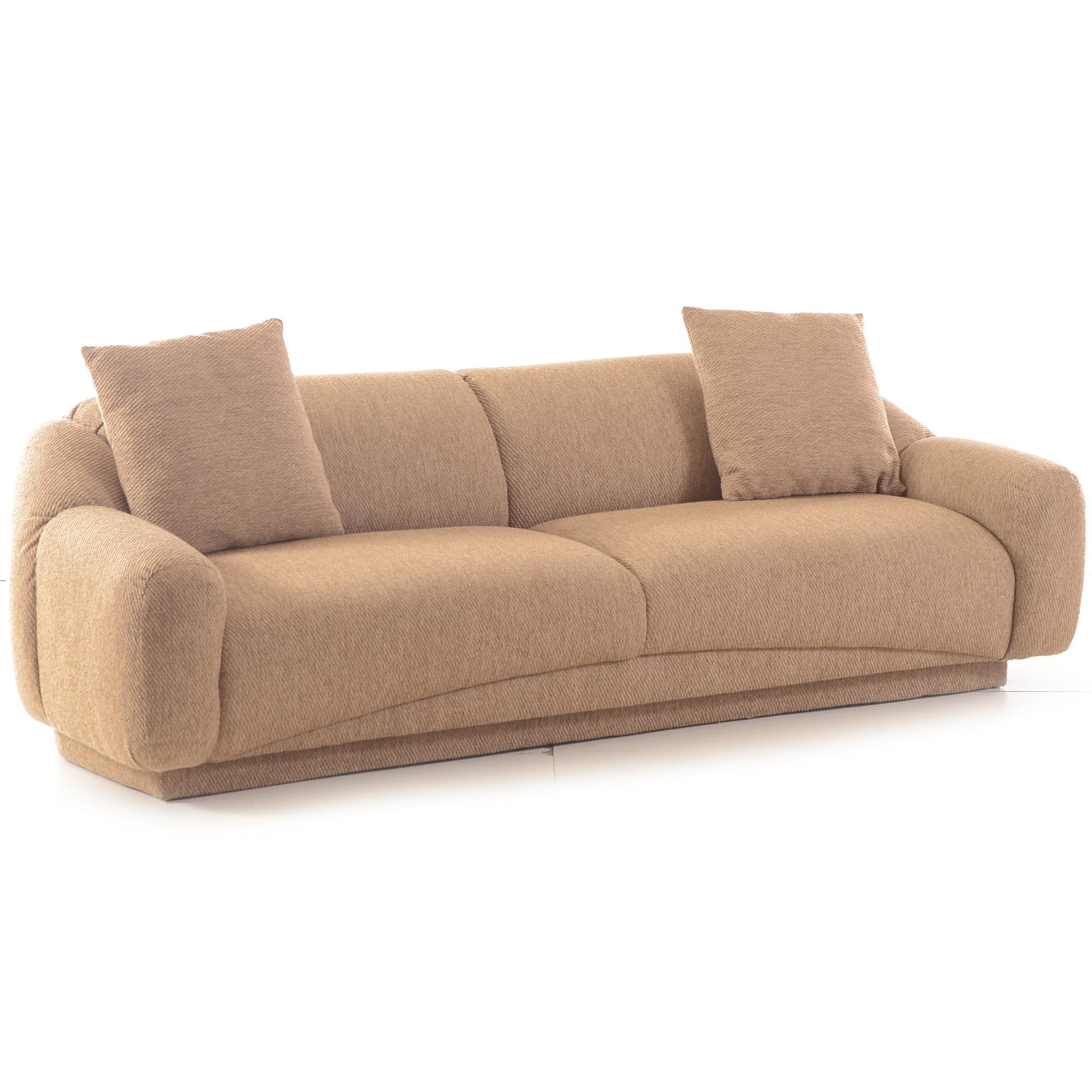 Otmar Brown Textural Sofa
