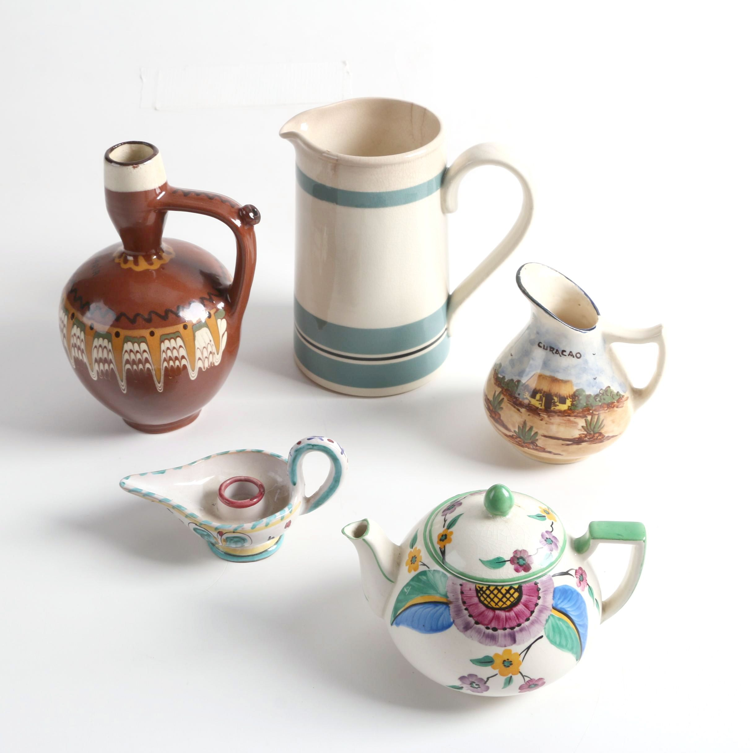 Crown Devon with Sadler and Hand-Painted Pottery Tableware