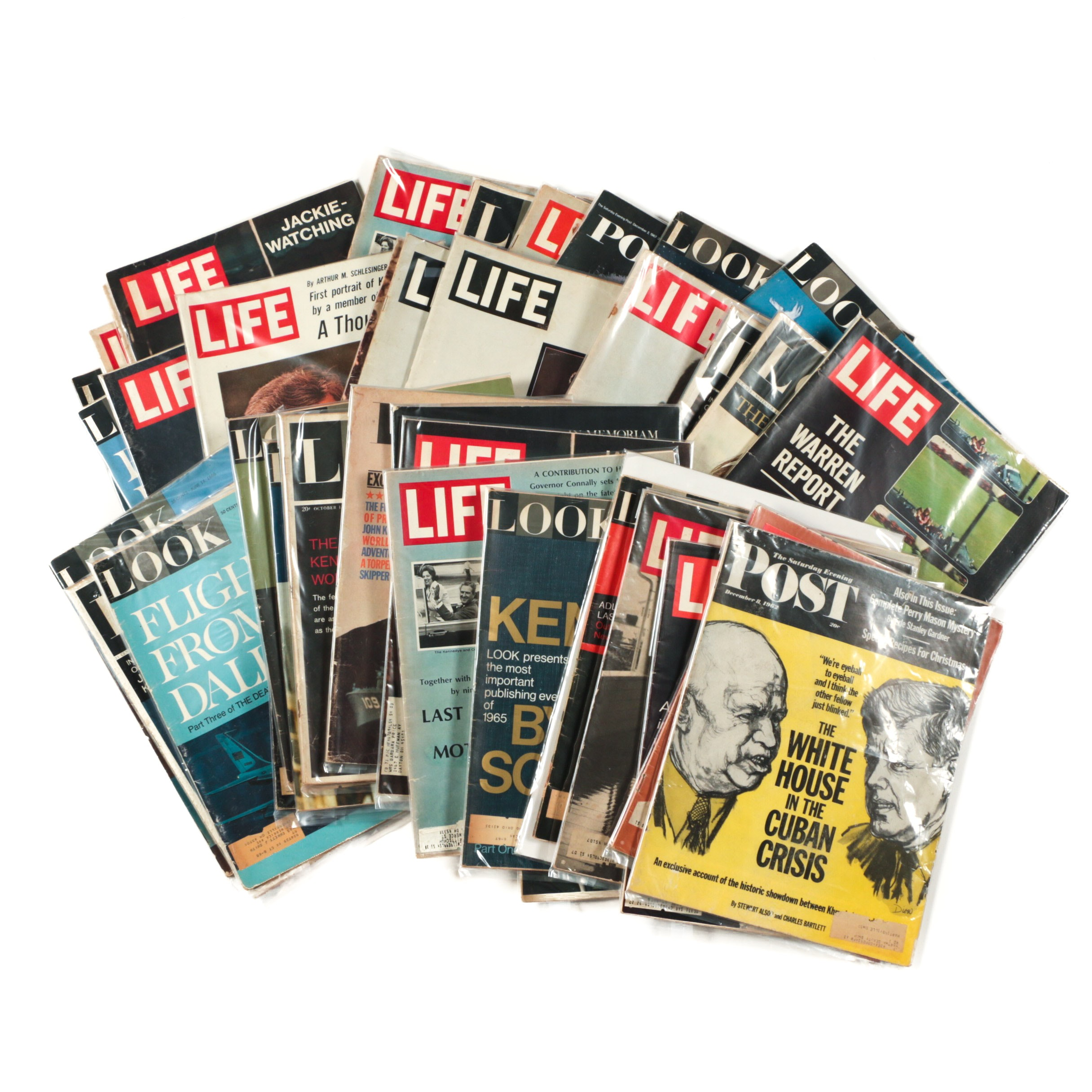 Collection of Mid-Century Magazines
