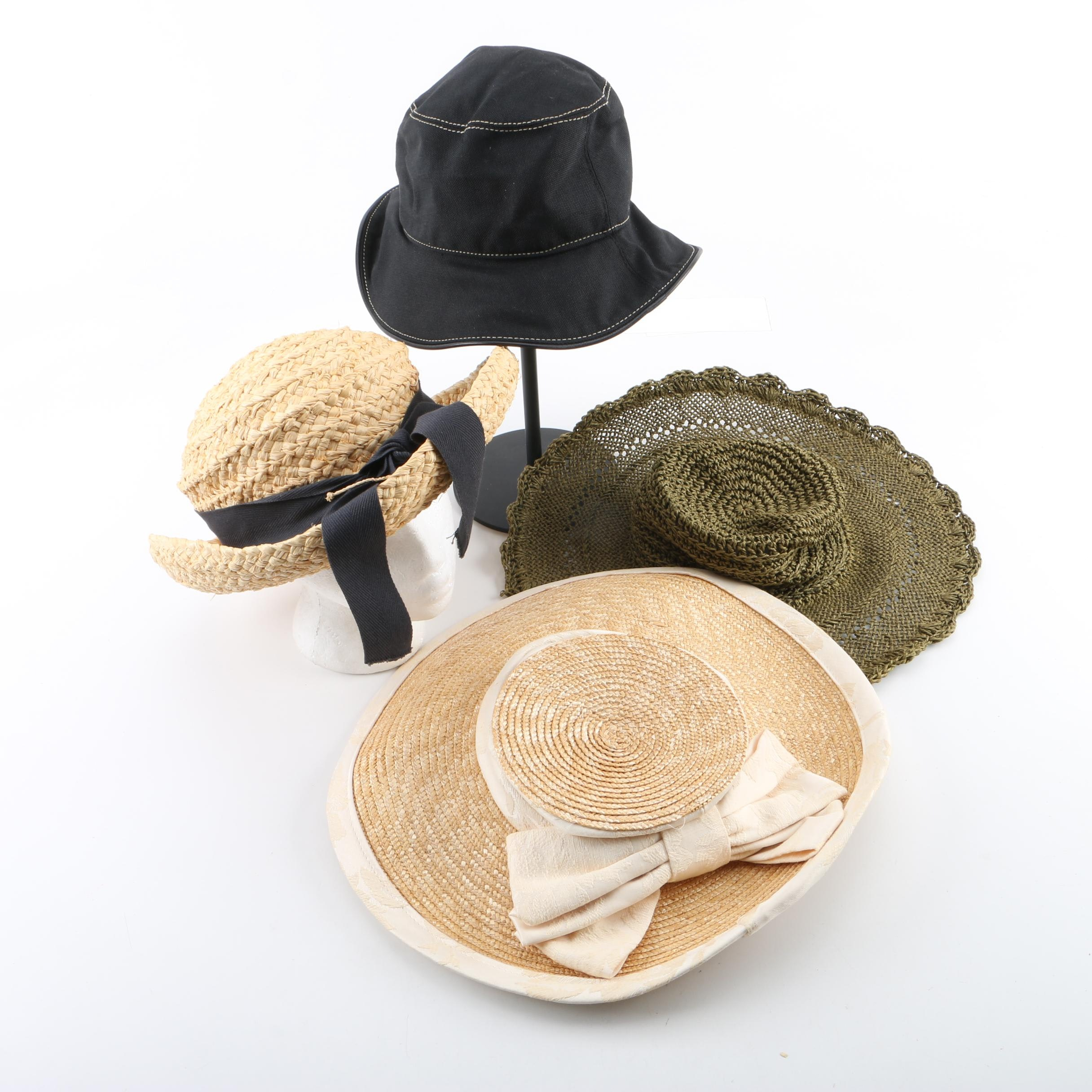 Women's Woven, Bucket and Wide-Brimmed Hats with Eric Javits and Helen Kaminski