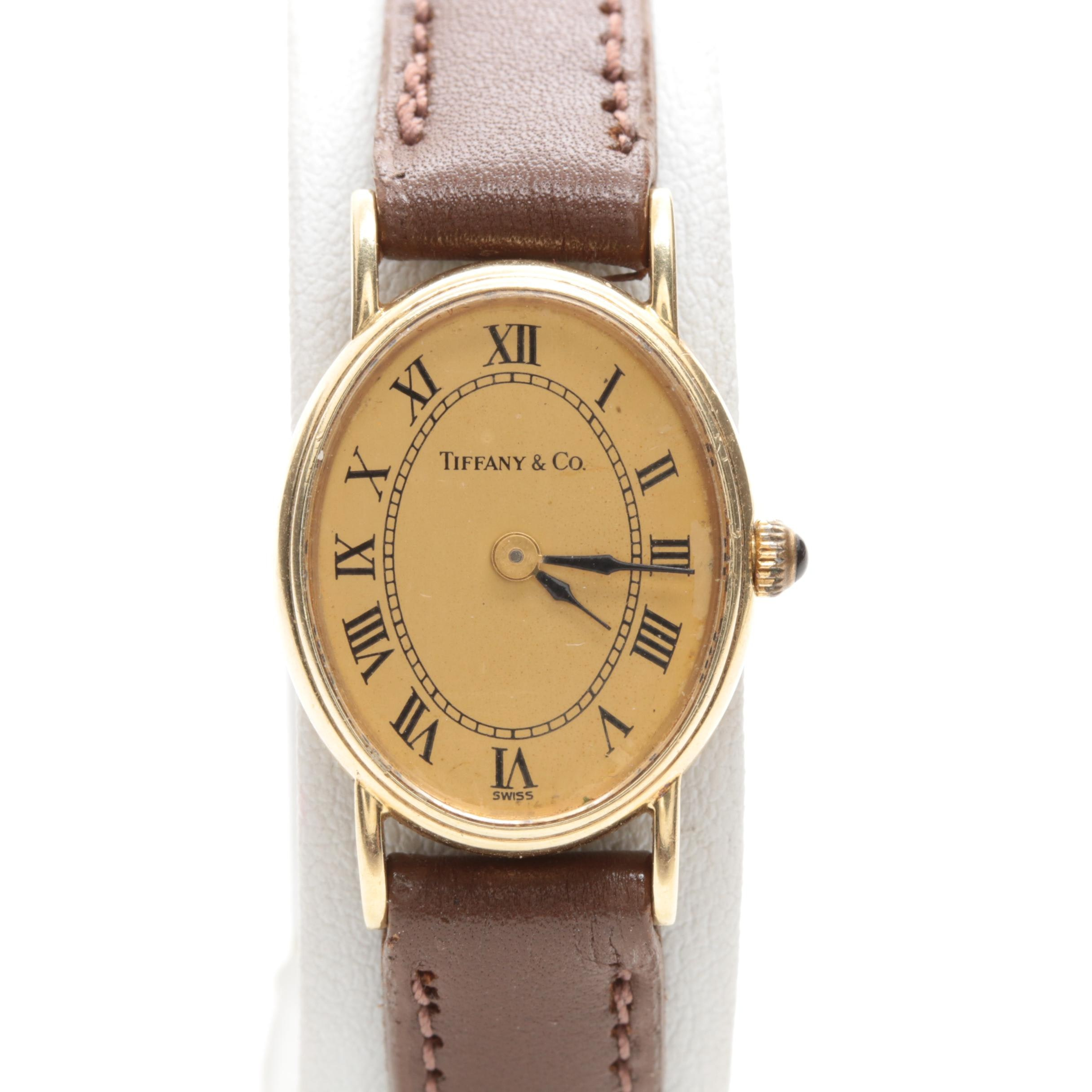 Tiffany & Co. 14K Yellow Gold Wristwatch