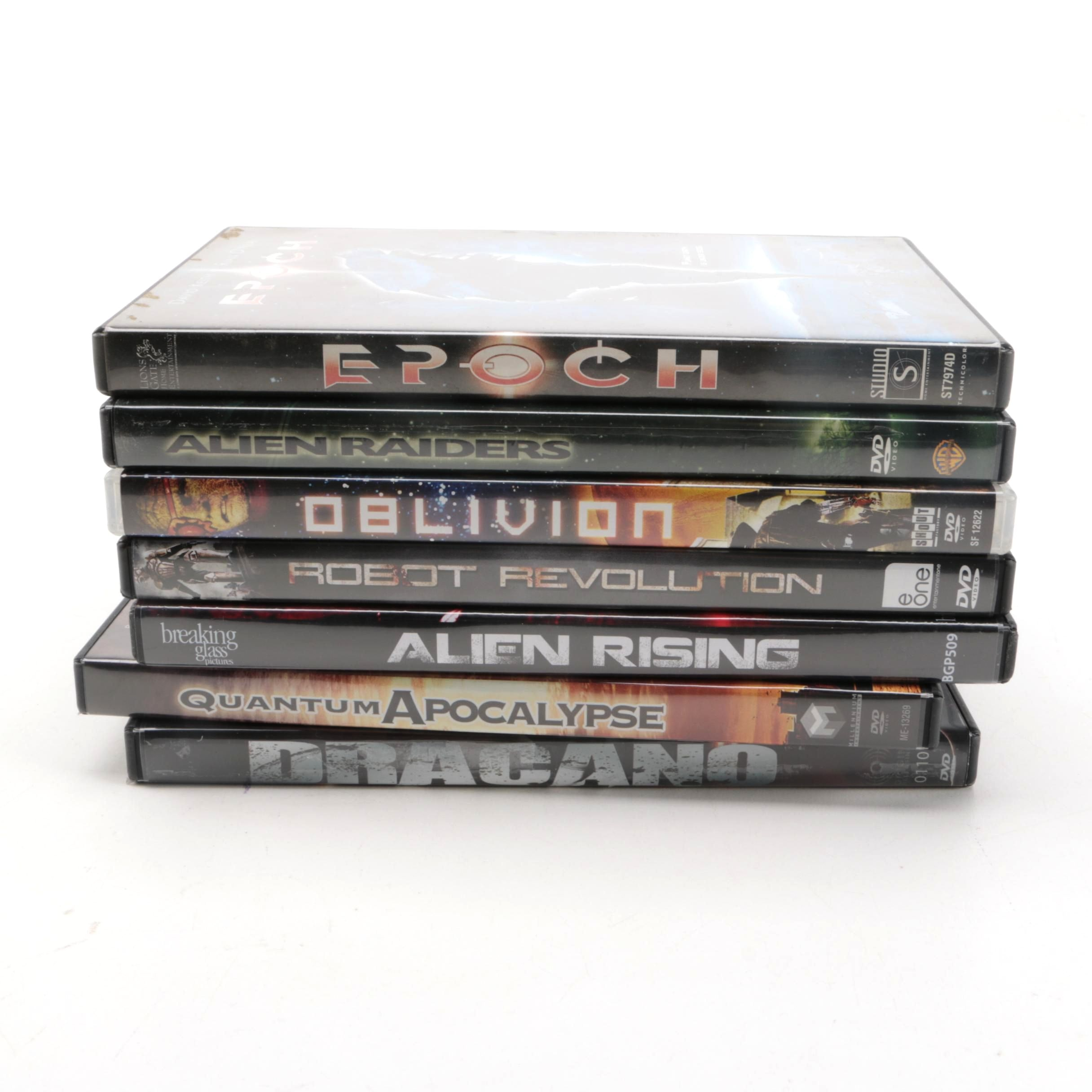 Collection of Six Sci-fi DVDs