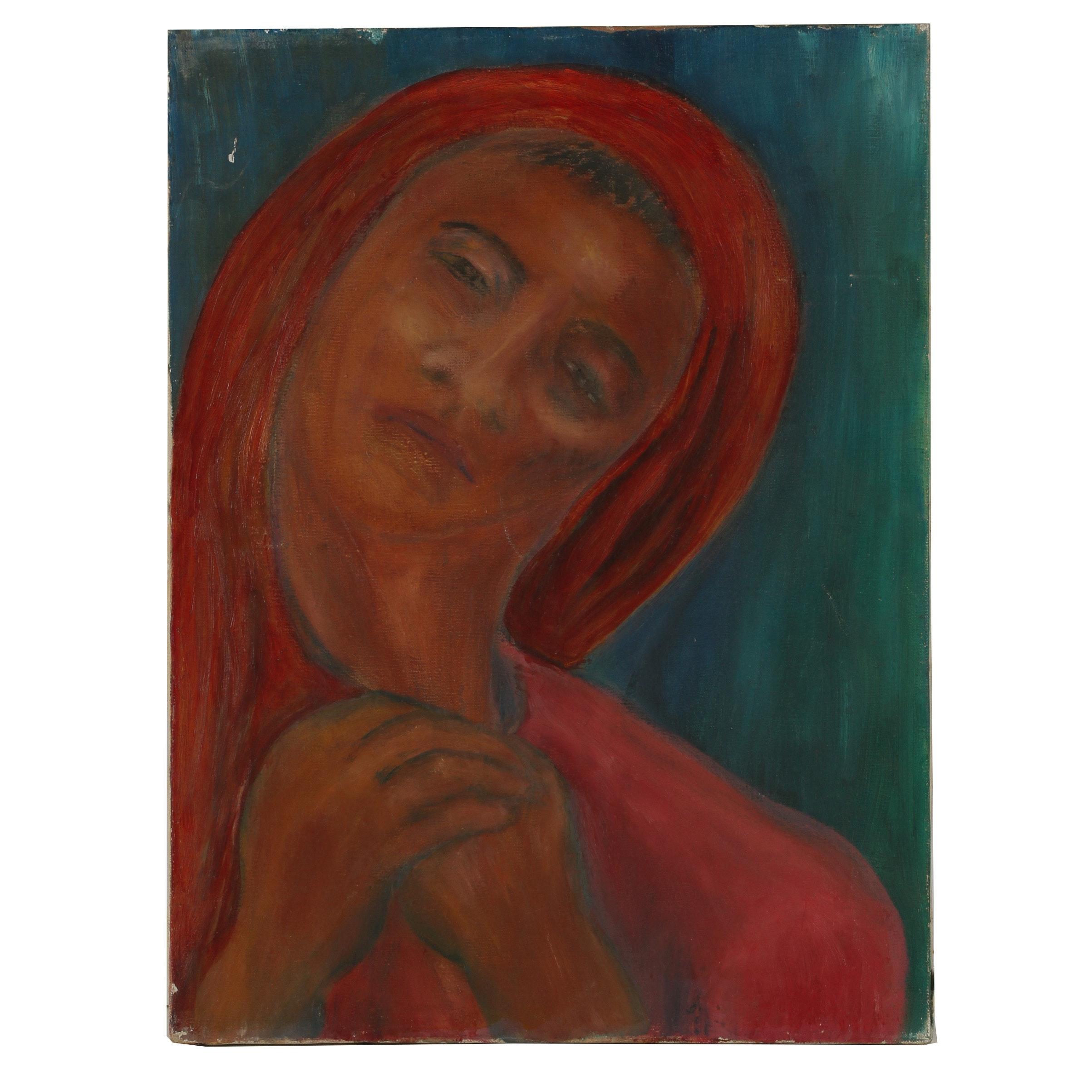 Mid 20th Century Oil Painting