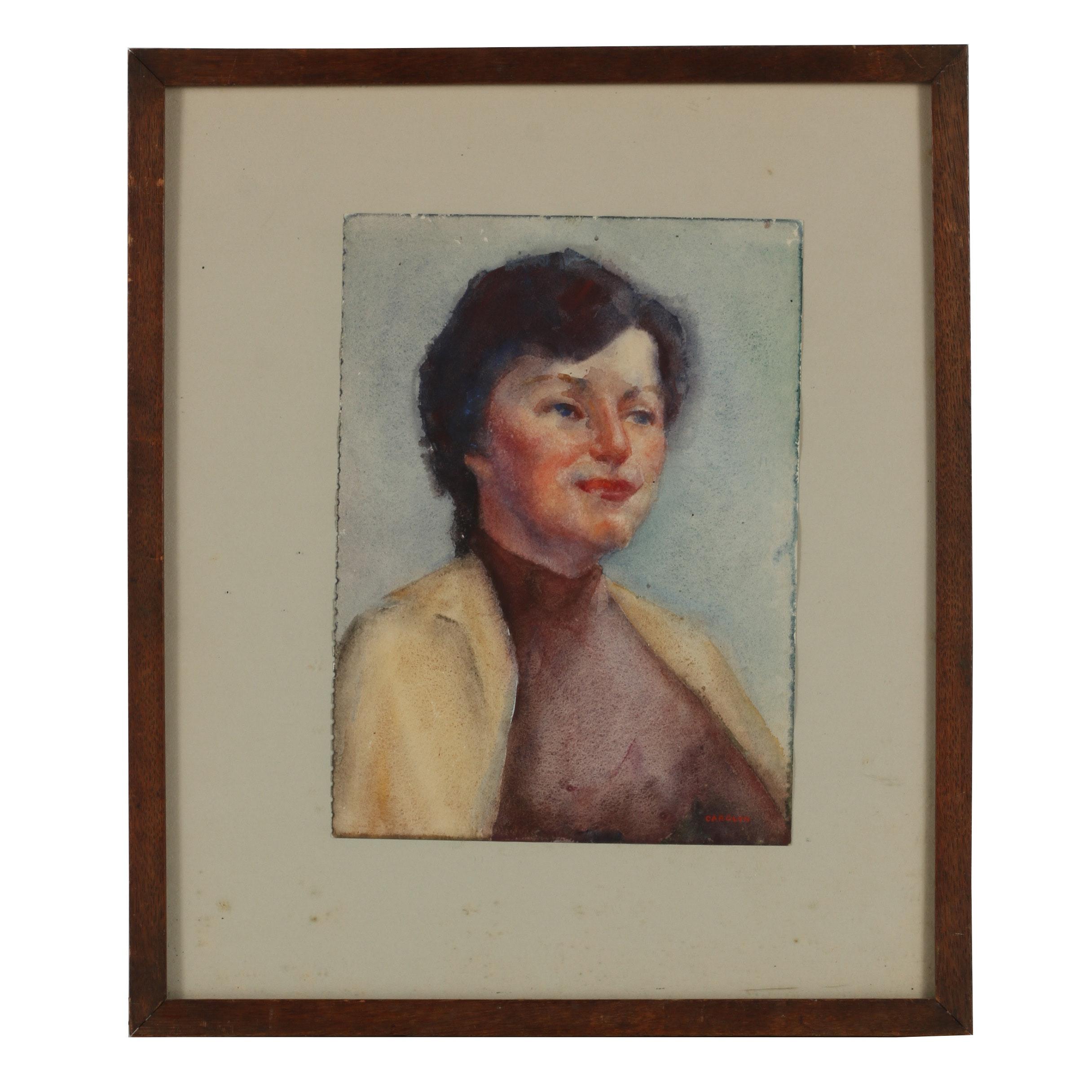 Carolyn Zimmerman Watercolor Painting