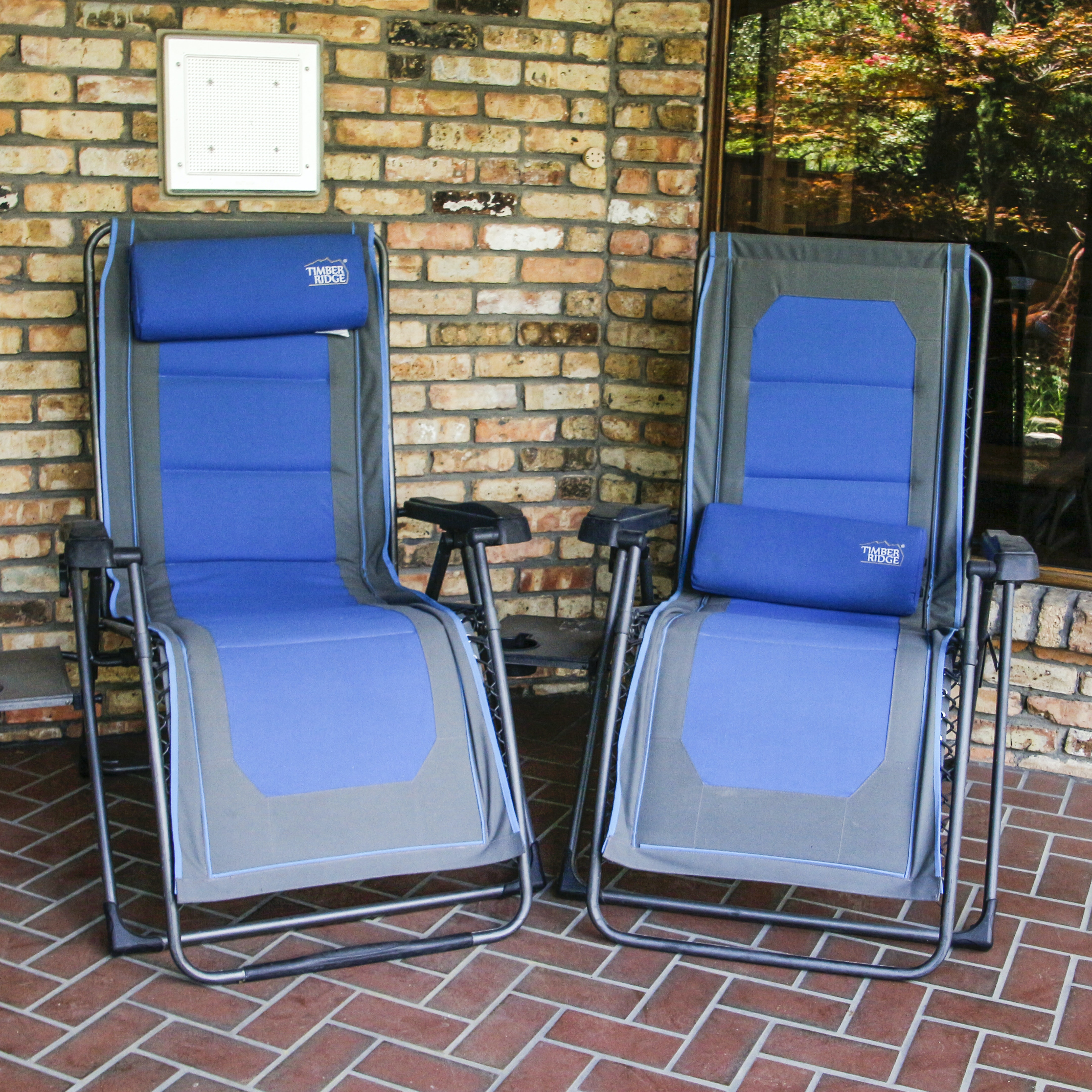 Reclining Lounge Patio Chairs by Timber Ridge