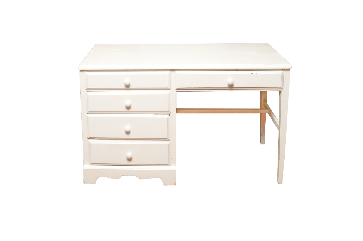 Children's White Painted Desk