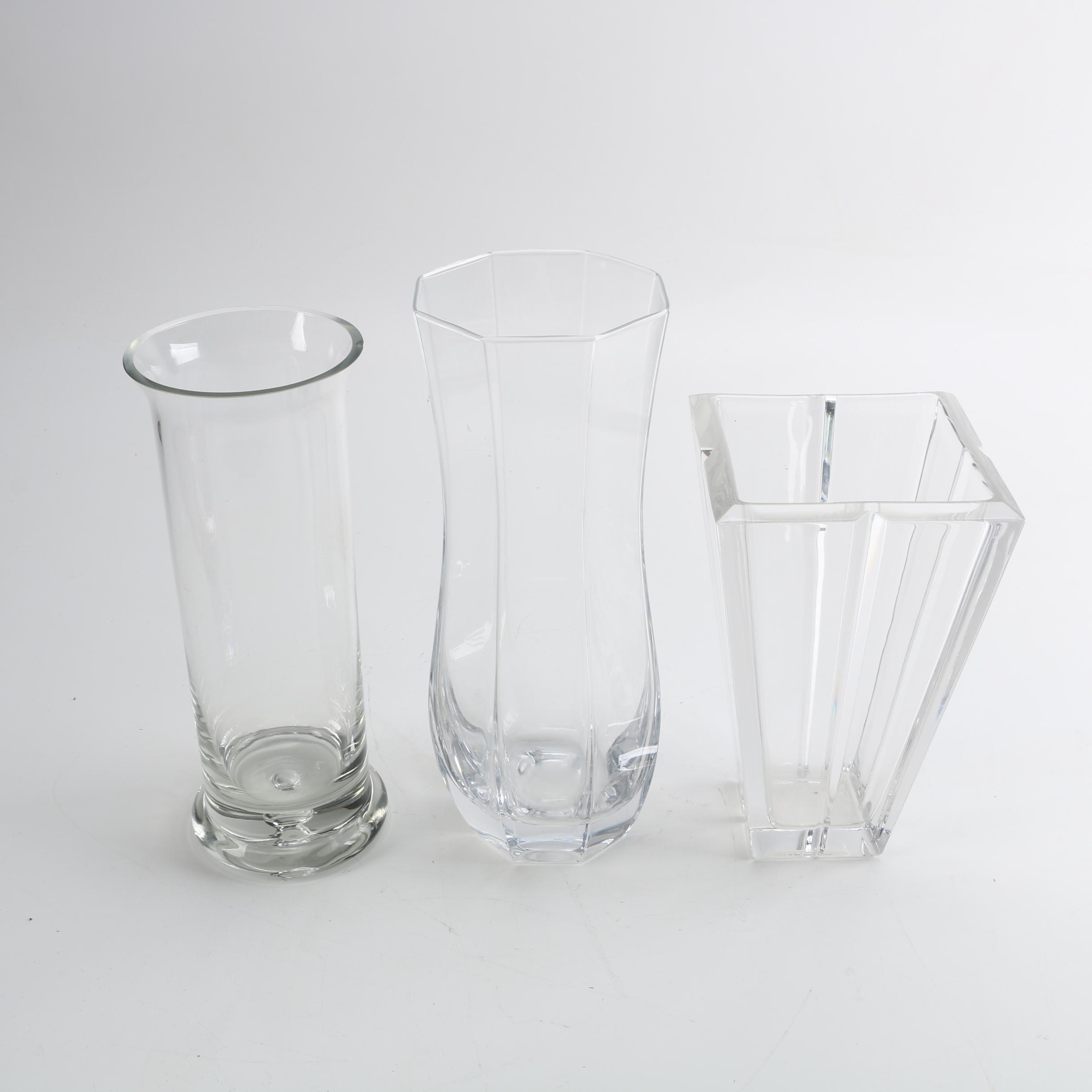 Crystal and Glass Vases