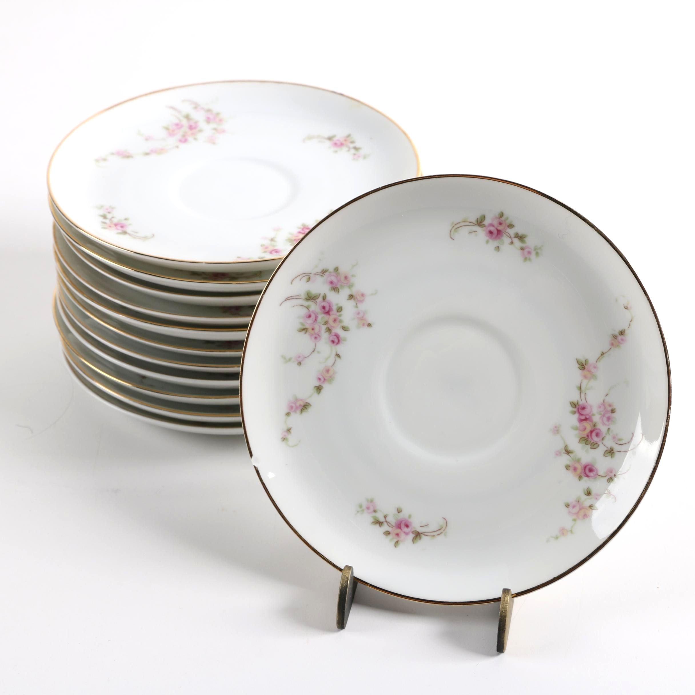 1920s Rosenthal Porcelain Saucers