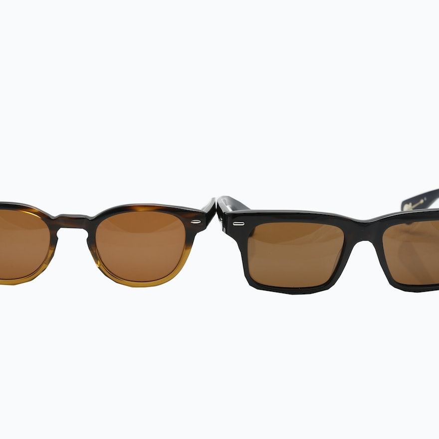 6745a09c9e Paul Smith PS-3003 and Oliver Peoples Sheldrake Sunglasses   EBTH