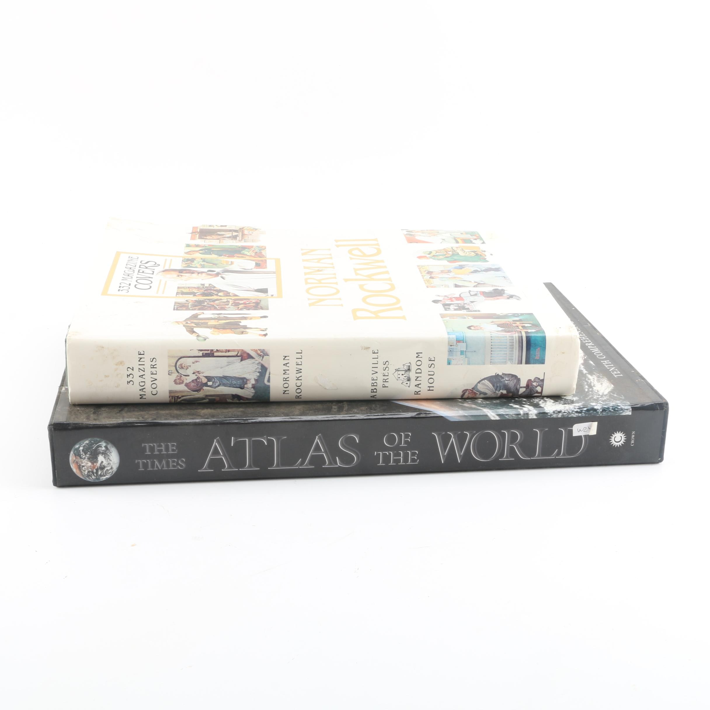 """Norman Rockwell: 332 Magazine Covers"" and The Times ""Atlas of the World"""