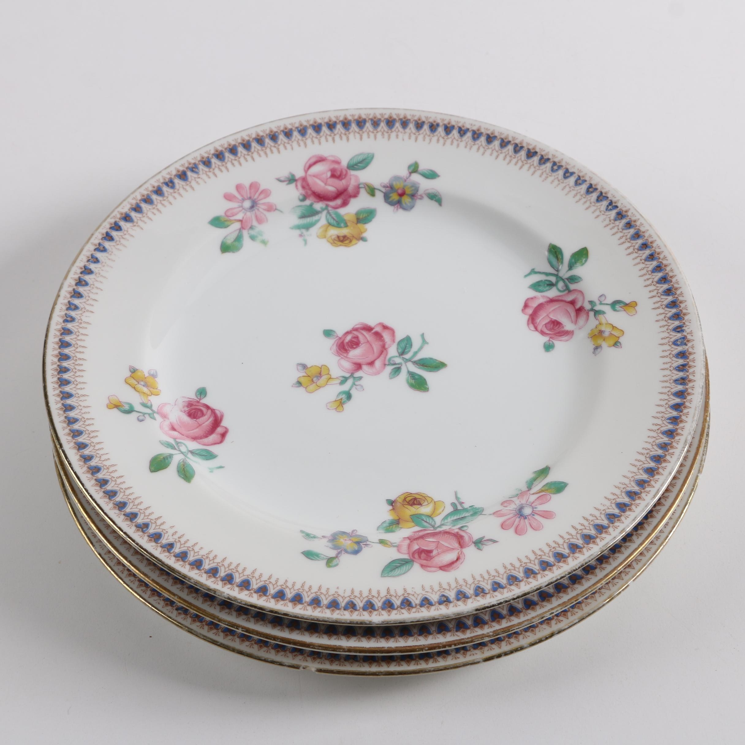 Vintage C. Ahrenfeldt Limoges Porcelain Plates