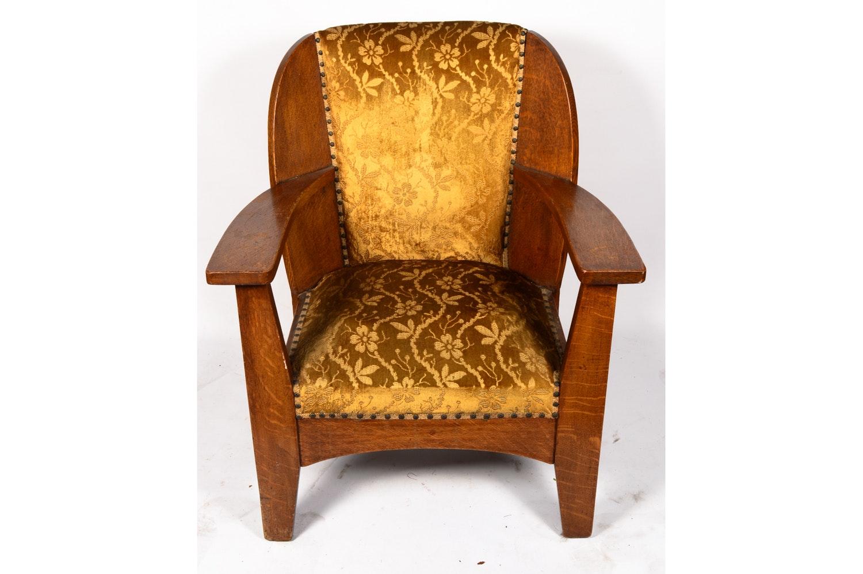 Vintage Quartersawn Oak Chair