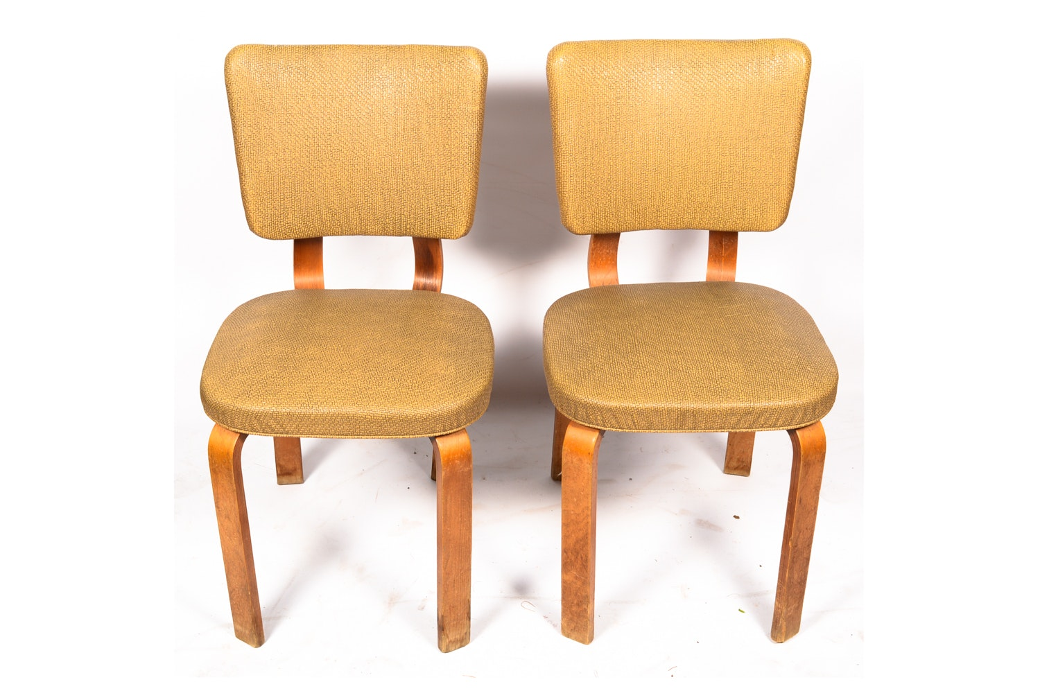 Mid Century Modern Aalto Style Side Chairs