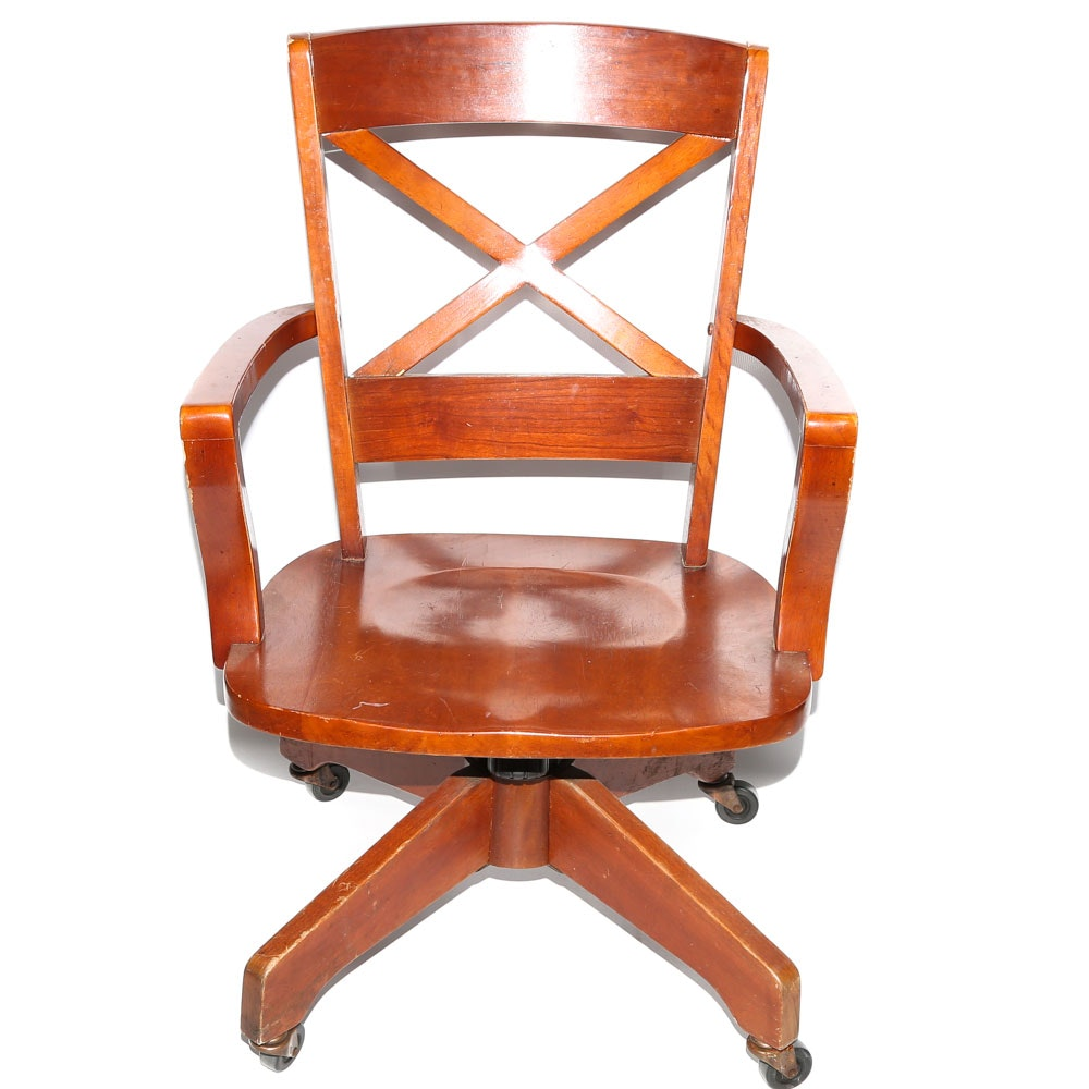 The Bombay Company Swivel Desk Chair