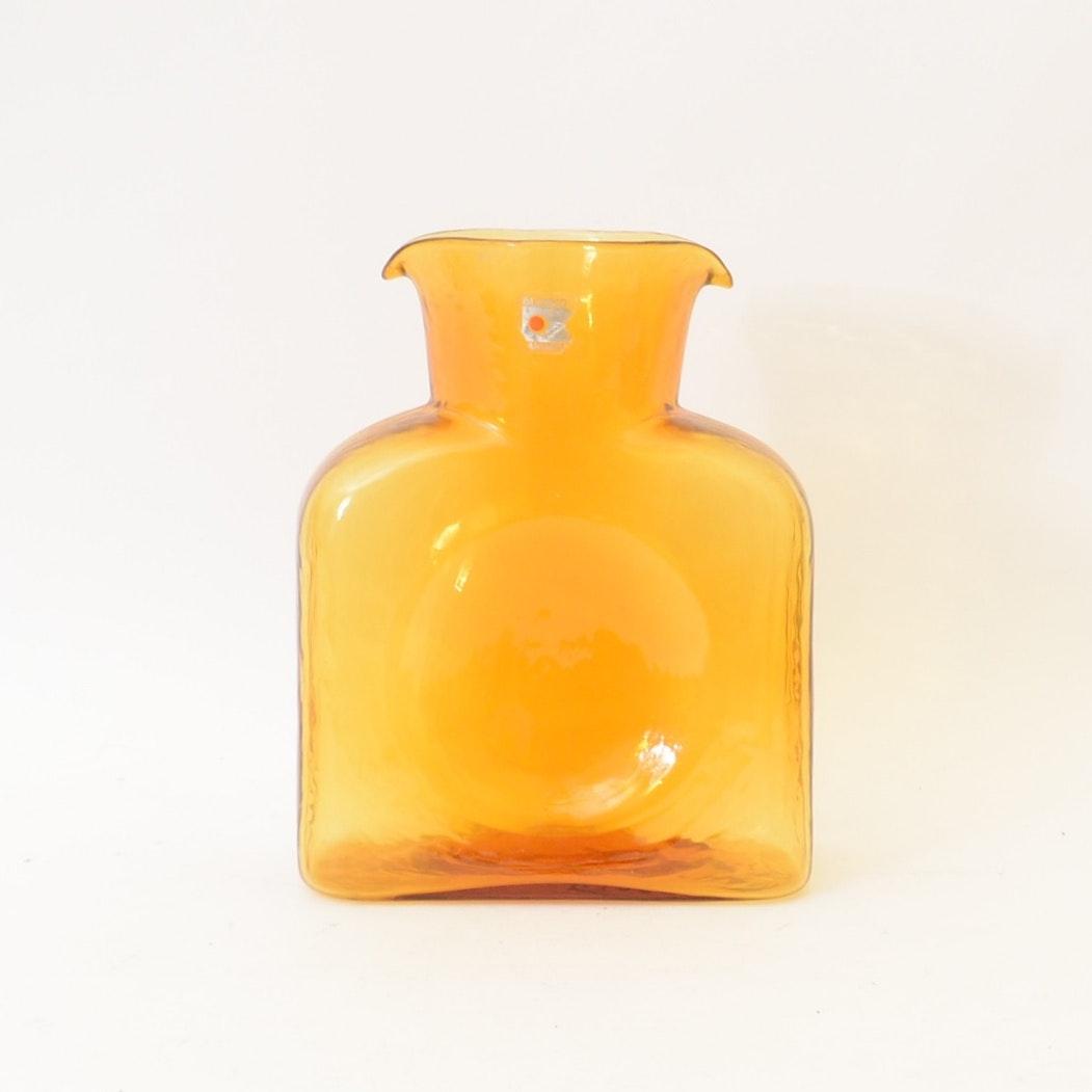 Blenko Art Glass Water Bottle