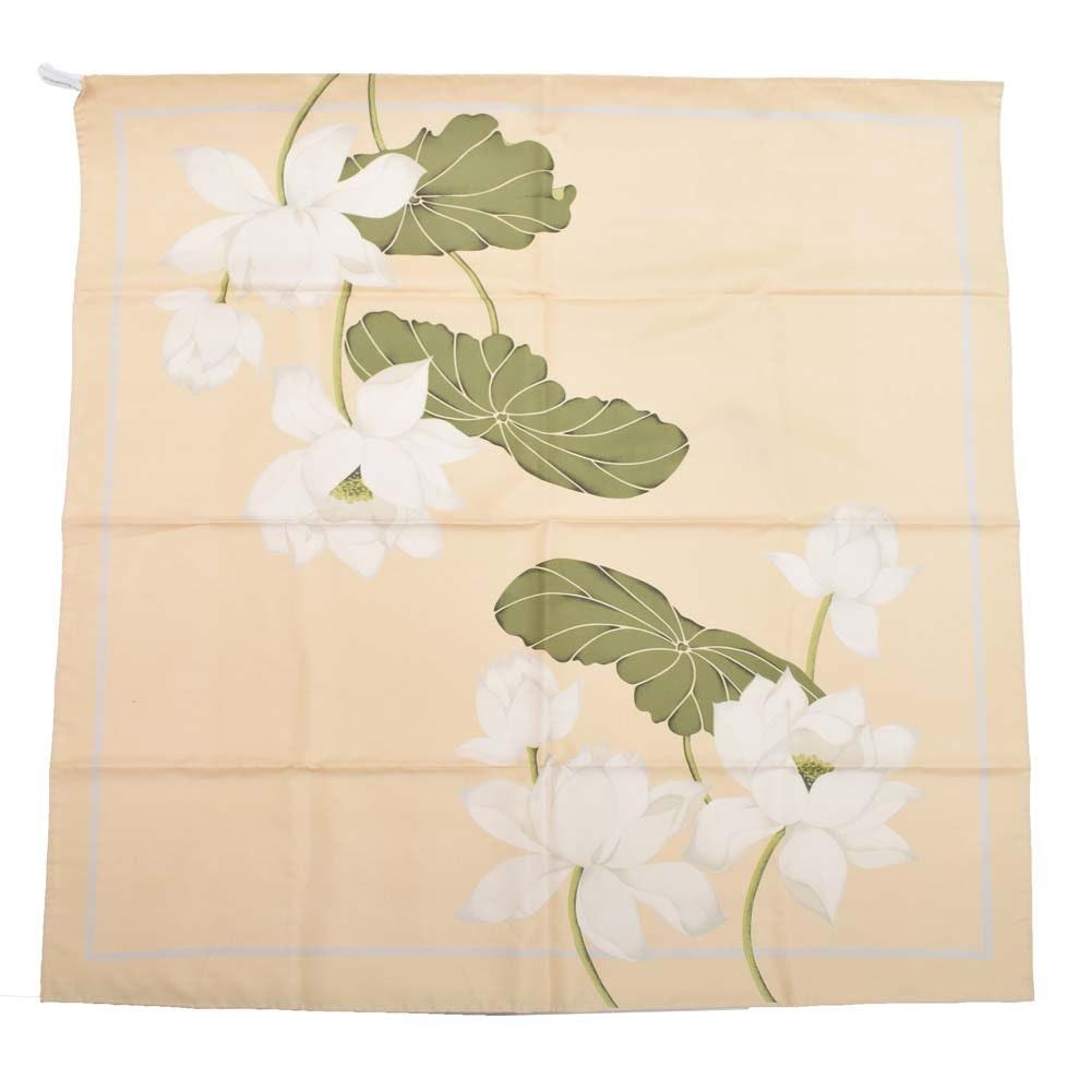 Jim Thompson Silk Scarf in Floral Print
