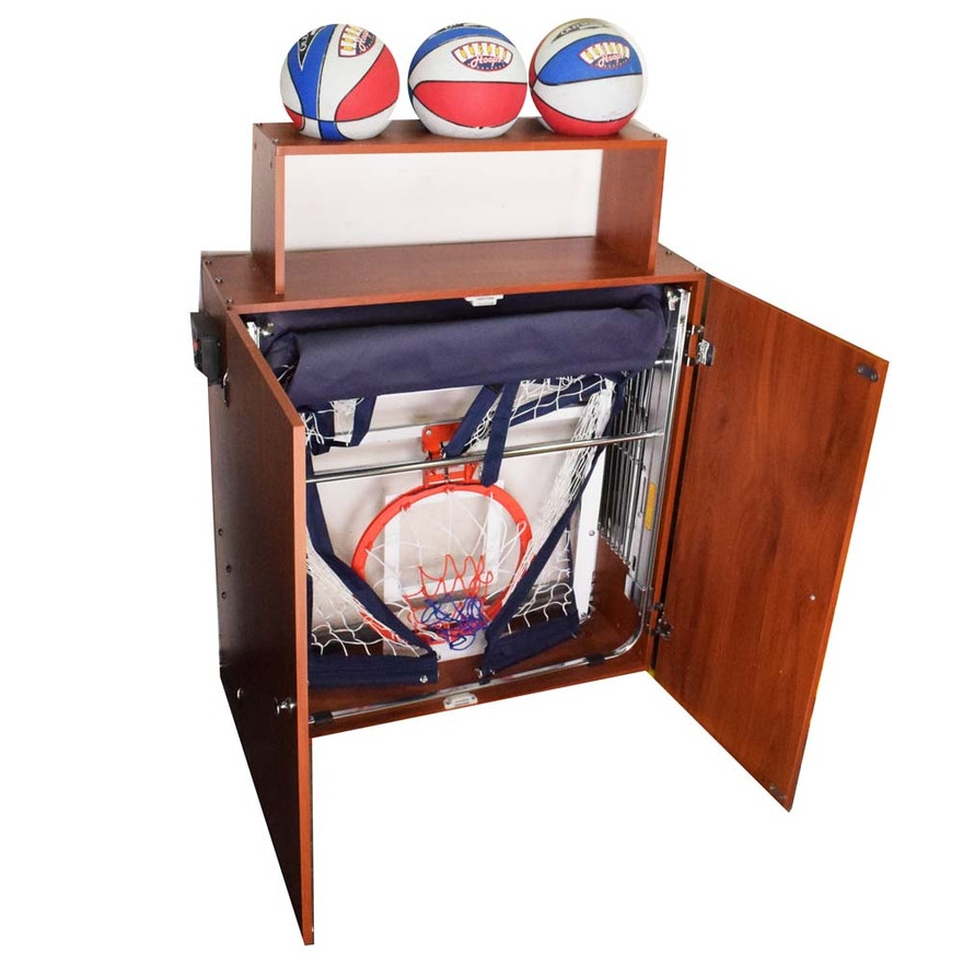 Arcade Basketball Hoops Cabinet
