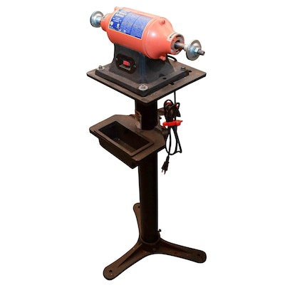 Fine Craftsman 6 Bench Grinder Ebth Ibusinesslaw Wood Chair Design Ideas Ibusinesslaworg