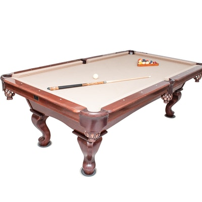 Leisure Sports And Indoor Games Auction In Mid Century Modern Home - Mid century modern pool table